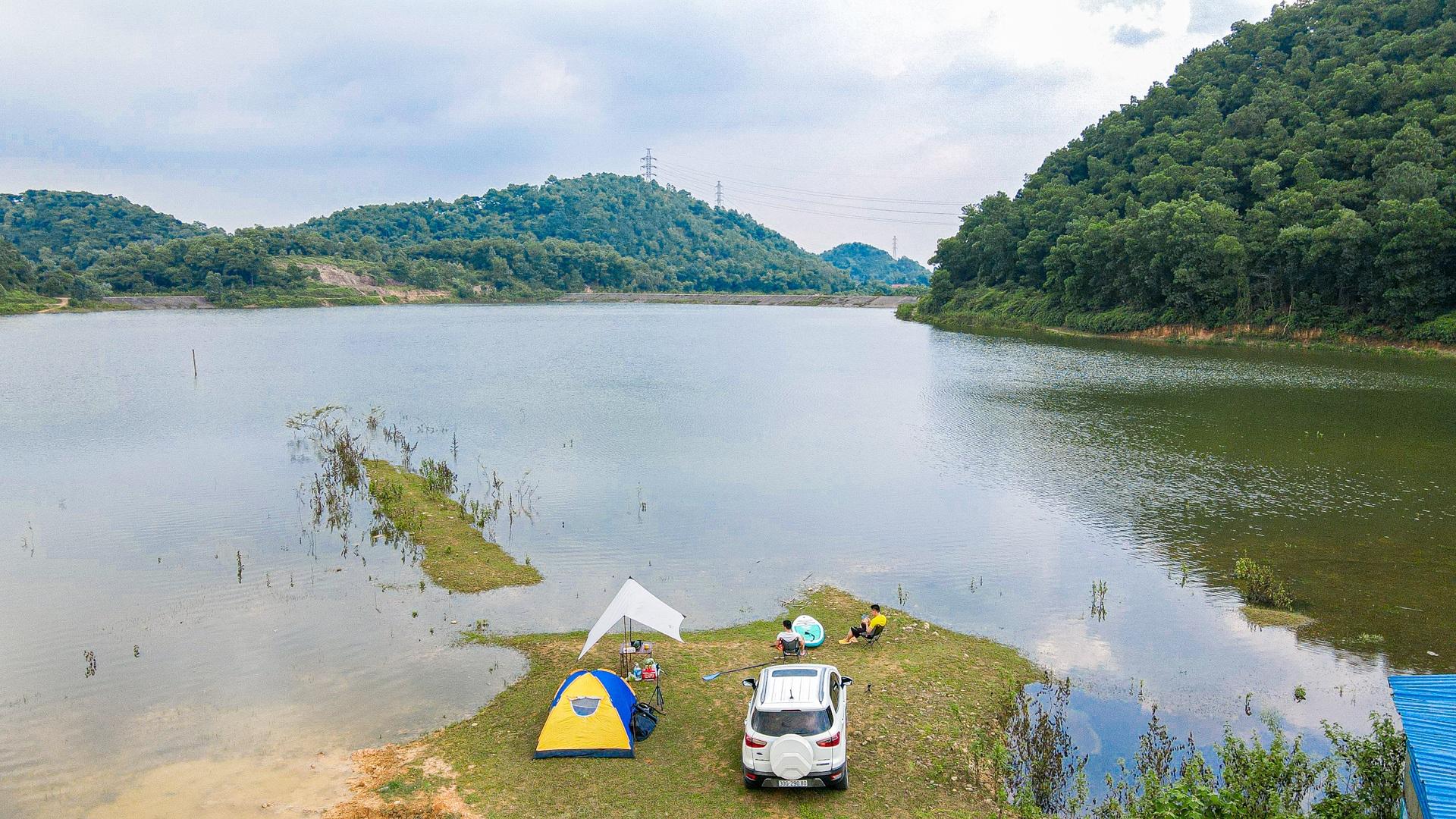 Hồ Chòm Núi - điểm trốn dịch lý tưởng cách nội đô Hà Nội chỉ 40km - 2