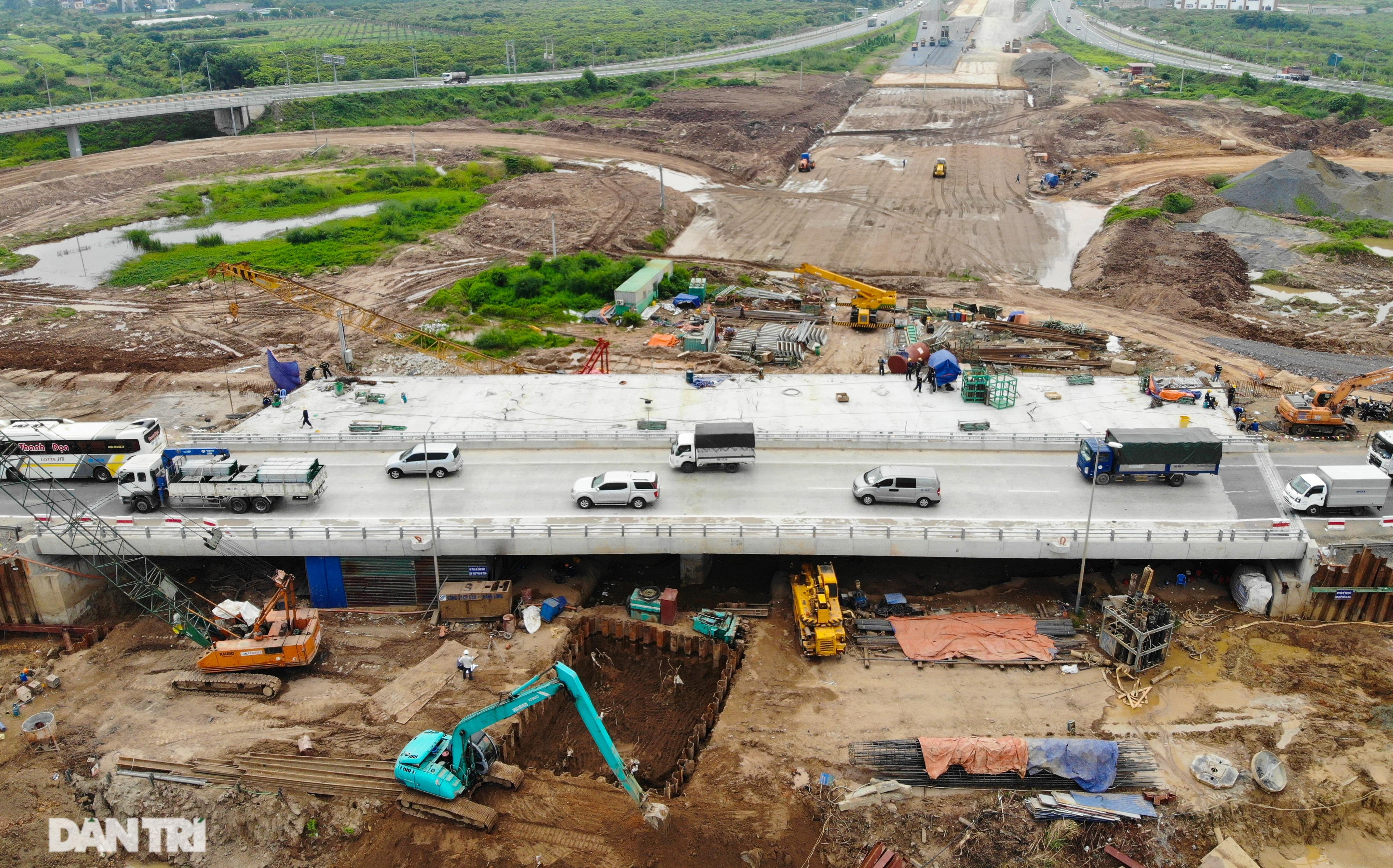 Đại công trường 400 tỷ đồng nối cao tốc Hà Nội - Hải Phòng và đường Cổ Linh - 1