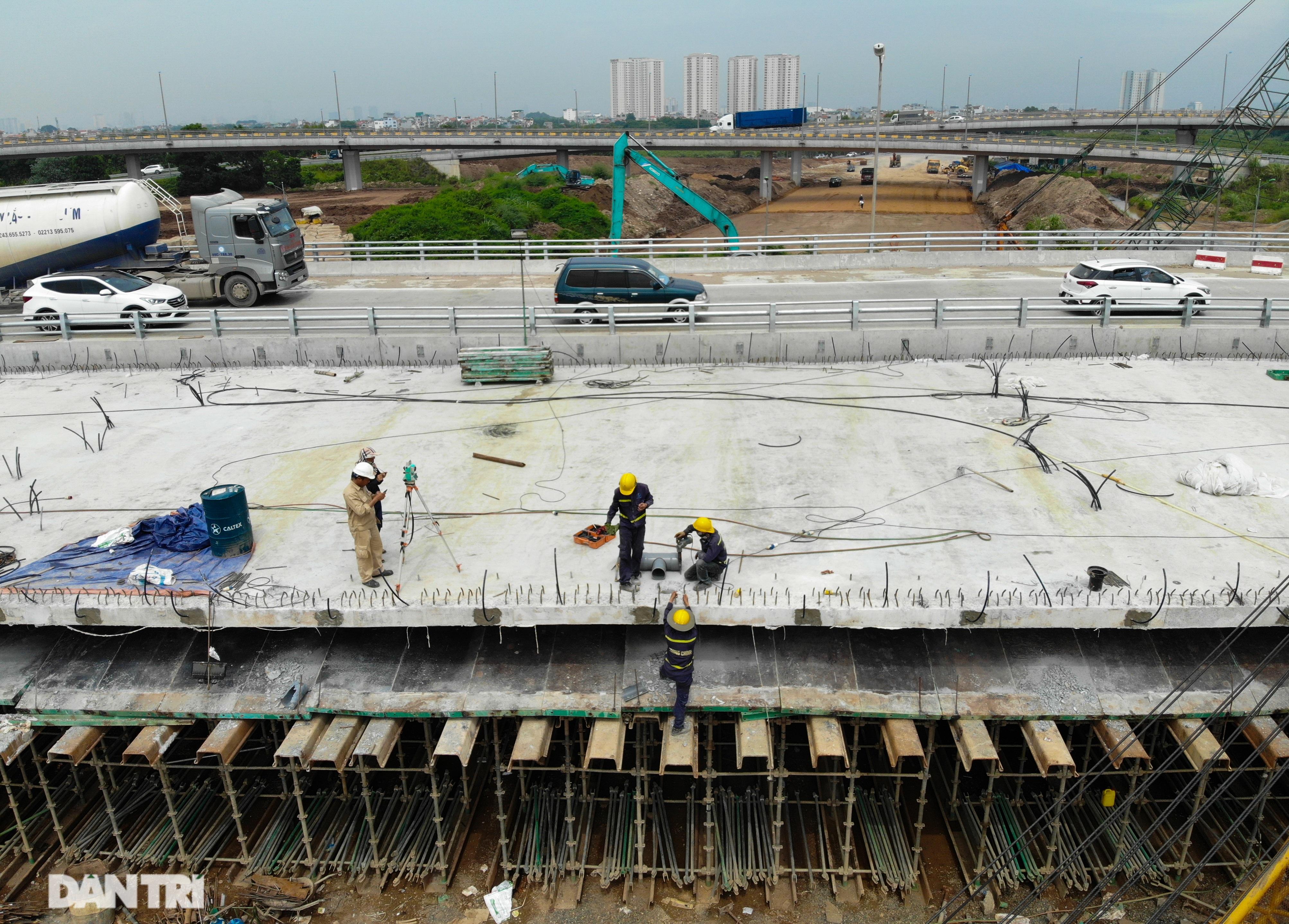 Đại công trường 400 tỷ đồng nối cao tốc Hà Nội - Hải Phòng và đường Cổ Linh - 14