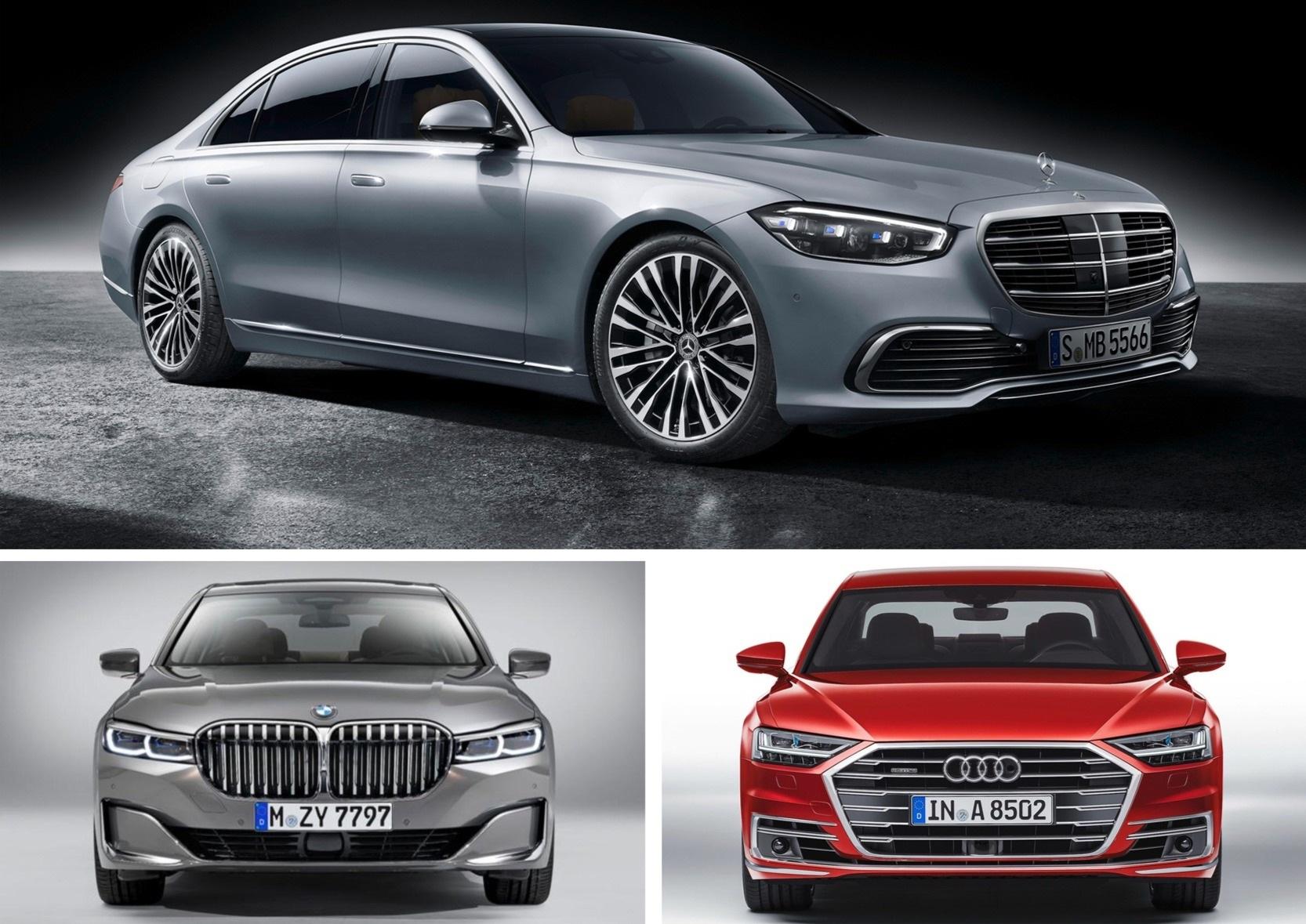 Chọn xe cho nhà giàu: Audi A8, BMW 7-Series, hay Mercedes S-Class mới? - 6