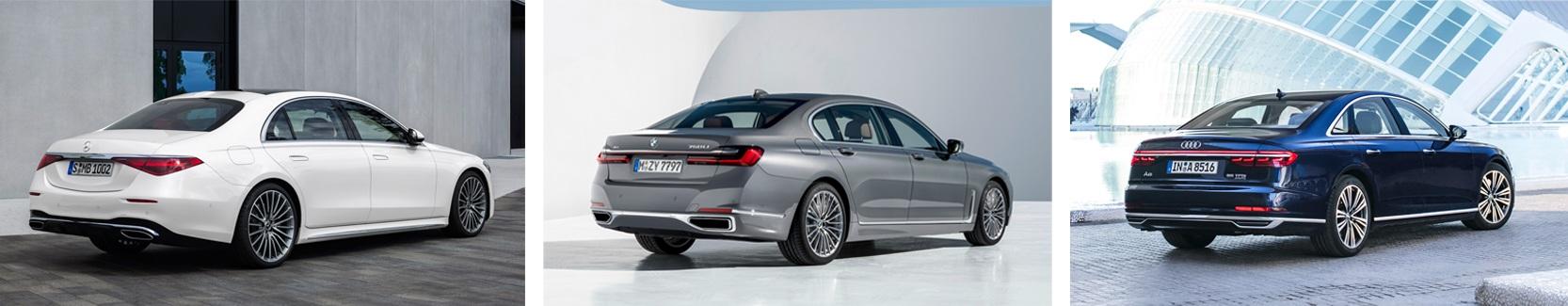 Chọn xe cho nhà giàu: Audi A8, BMW 7-Series, hay Mercedes S-Class mới? - 7