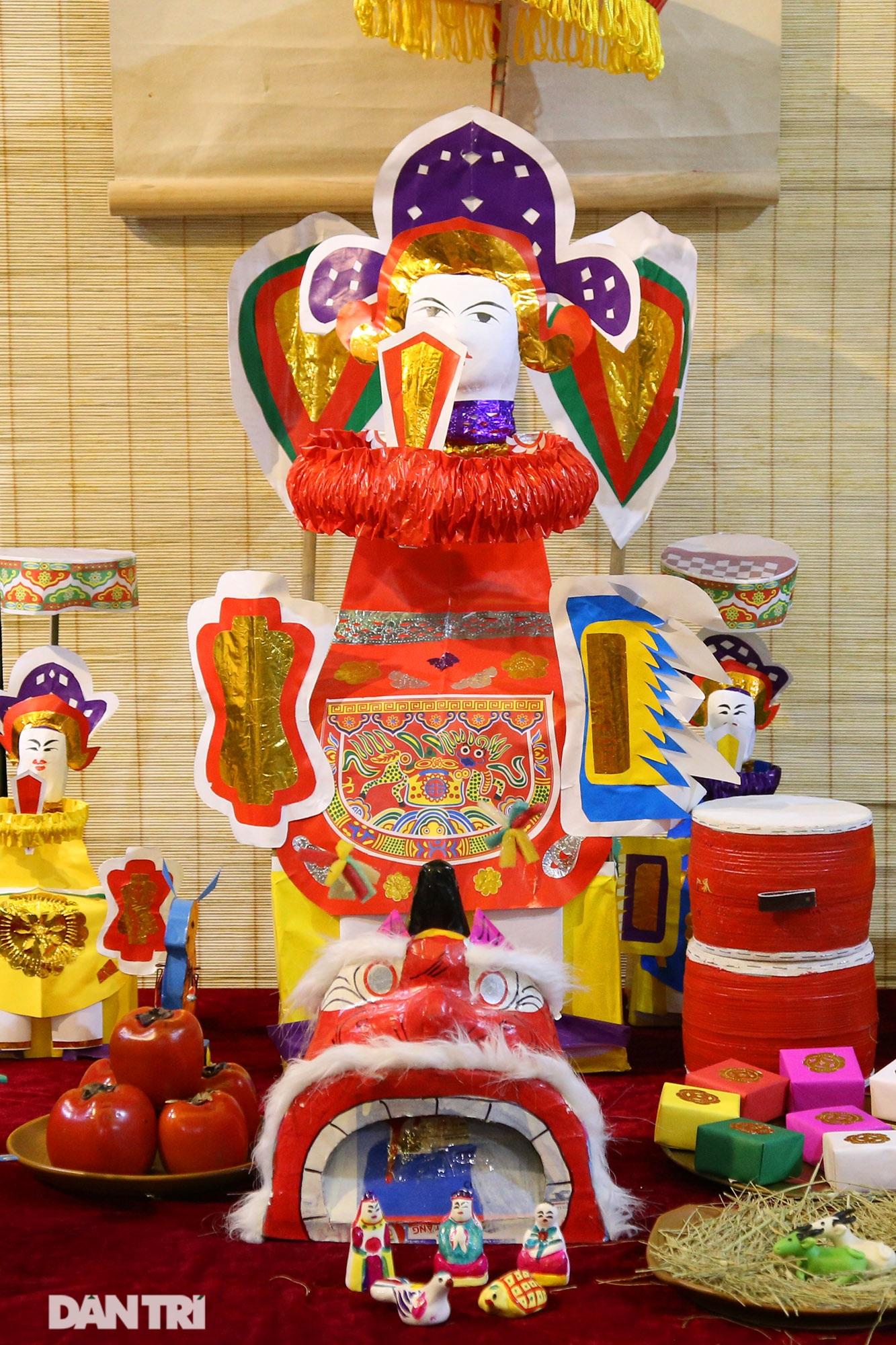 Không gian vui Tết Trung thu truyền thống của gia đình người Hà Nội - 6