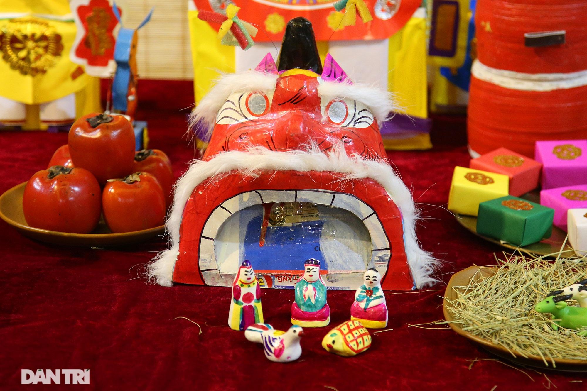 Không gian vui Tết Trung thu truyền thống của gia đình người Hà Nội - 8