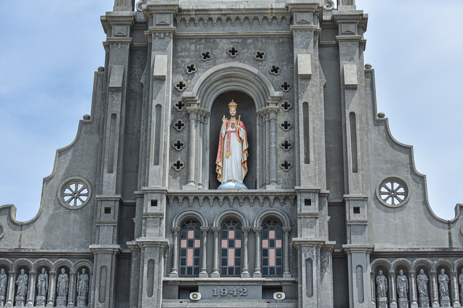 Đền Thánh Sa Châu - nhà thờ Nam Định đẹp uy nghi như ở trời Âu - 19