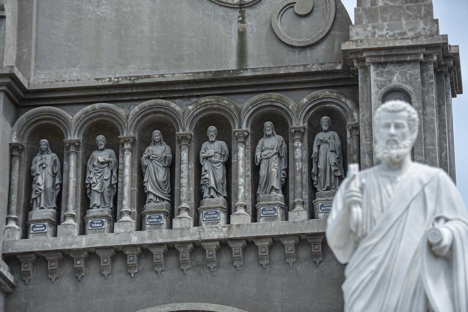 Đền Thánh Sa Châu - nhà thờ Nam Định đẹp uy nghi như ở trời Âu - 14