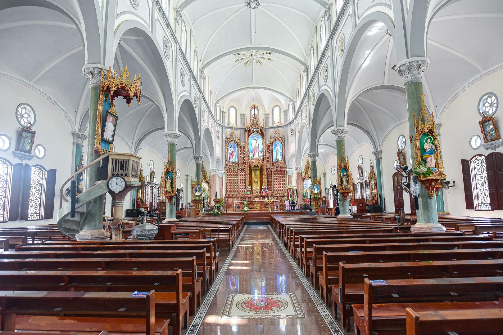 Đền Thánh Sa Châu - nhà thờ Nam Định đẹp uy nghi như ở trời Âu - 2
