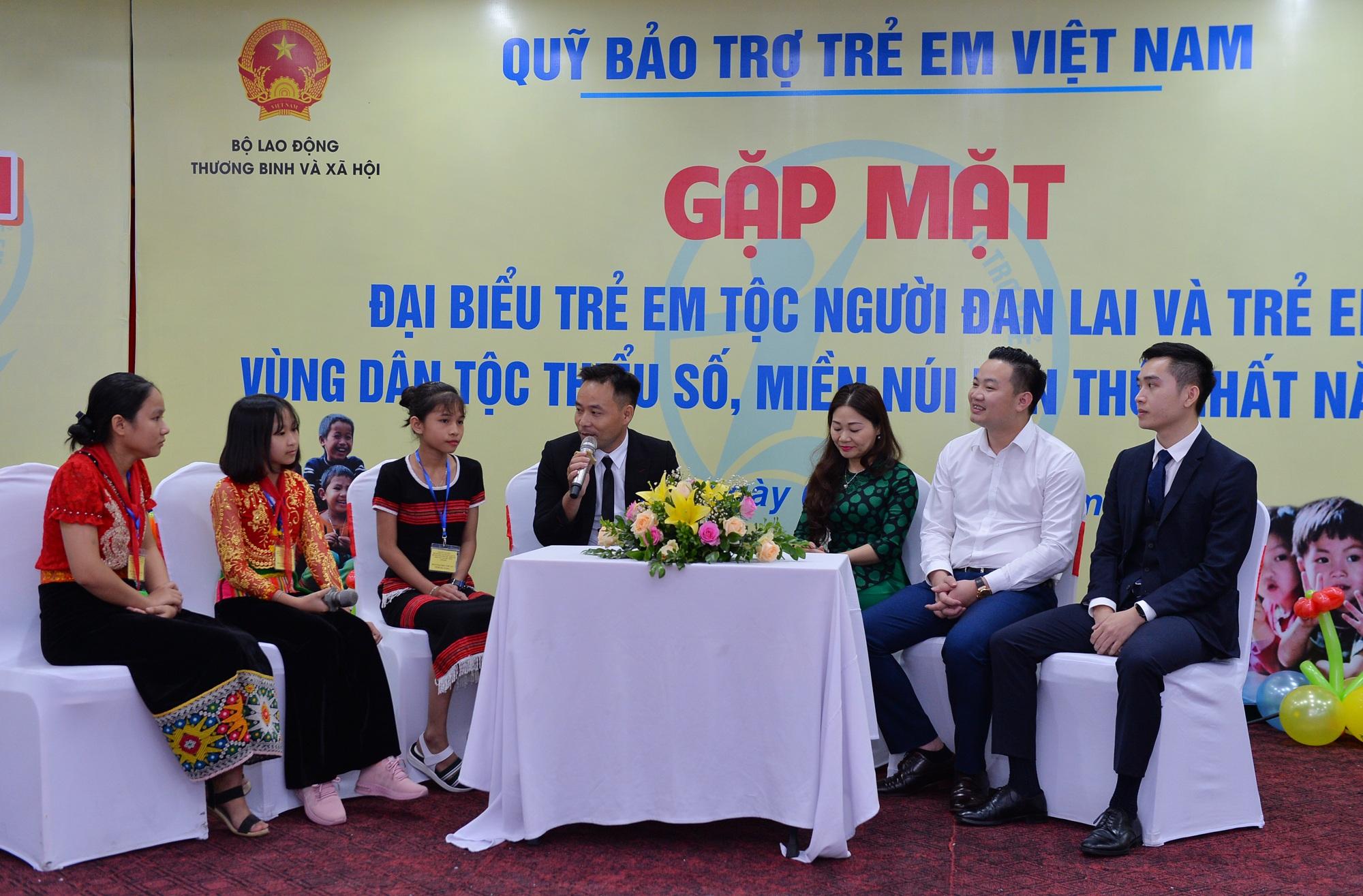 Gặp mặt trẻ em Đan Lai và trẻ em dân tộc thiểu số vượt khó học giỏi - 6