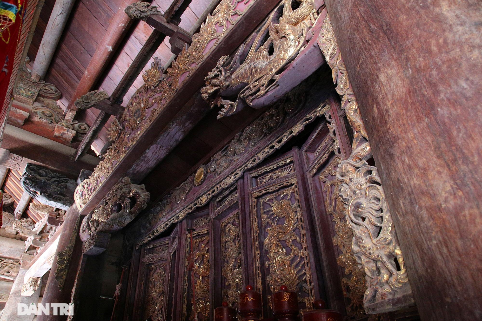 Chiêm ngưỡng tuyệt tác chạm khắc hơn 400 năm tuổi tại Hà Nội - 12