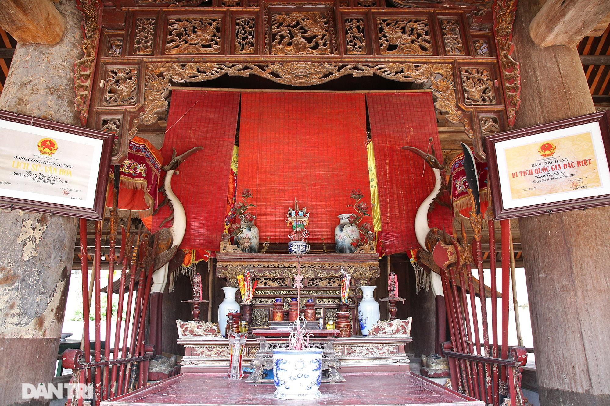 Chiêm ngưỡng tuyệt tác chạm khắc hơn 400 năm tuổi tại Hà Nội - 13