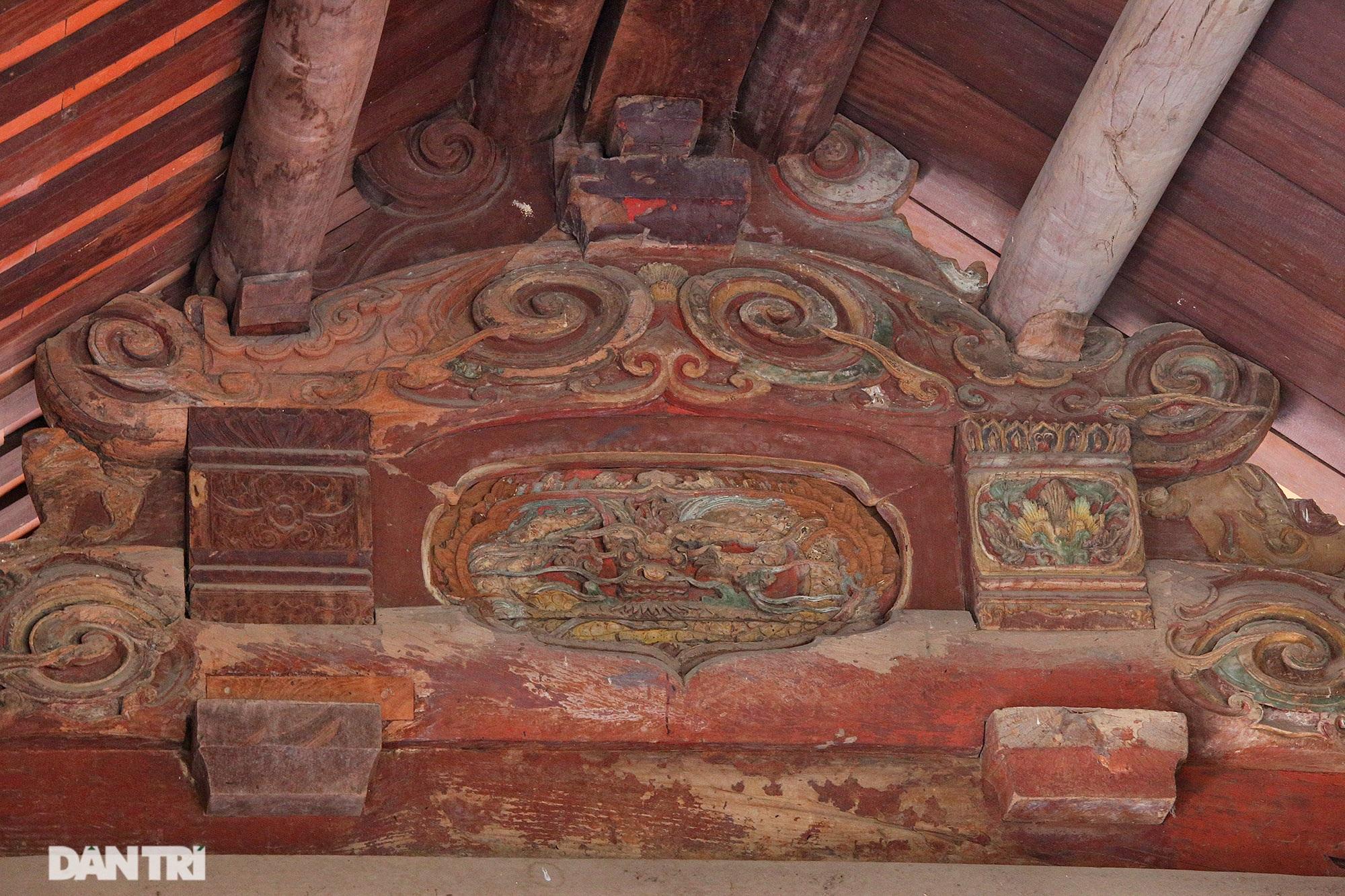 Chiêm ngưỡng tuyệt tác chạm khắc hơn 400 năm tuổi tại Hà Nội - 14