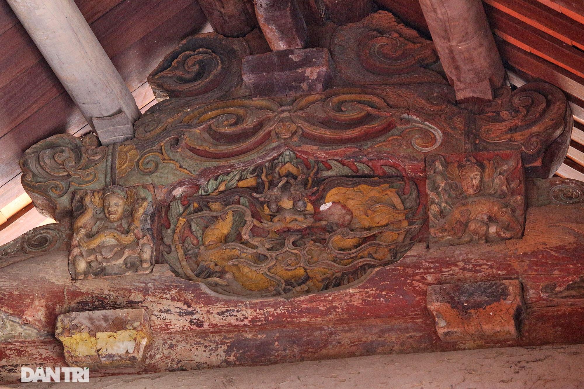 Chiêm ngưỡng tuyệt tác chạm khắc hơn 400 năm tuổi tại Hà Nội - 15
