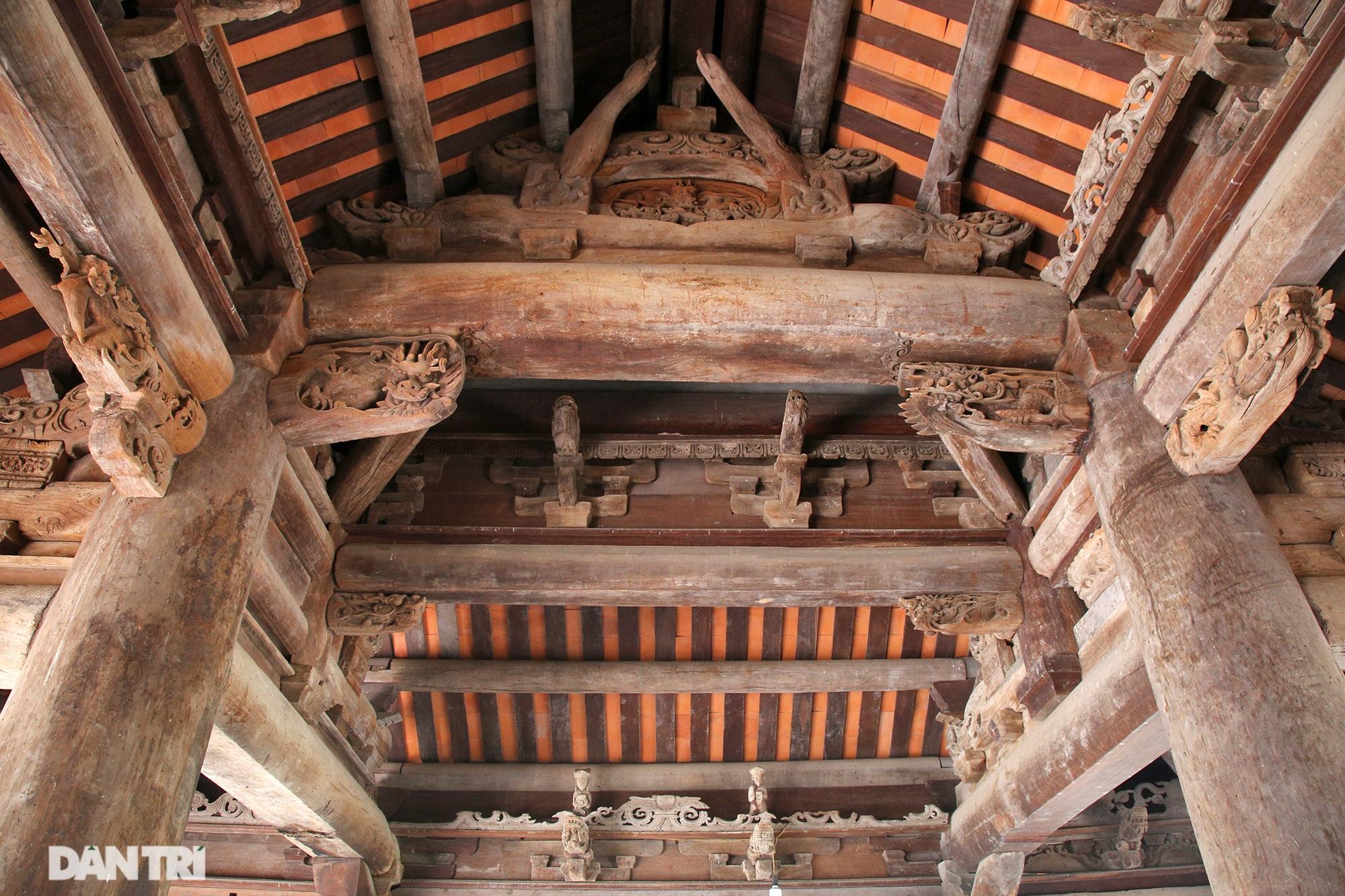 Chiêm ngưỡng tuyệt tác chạm khắc hơn 400 năm tuổi tại Hà Nội - 4