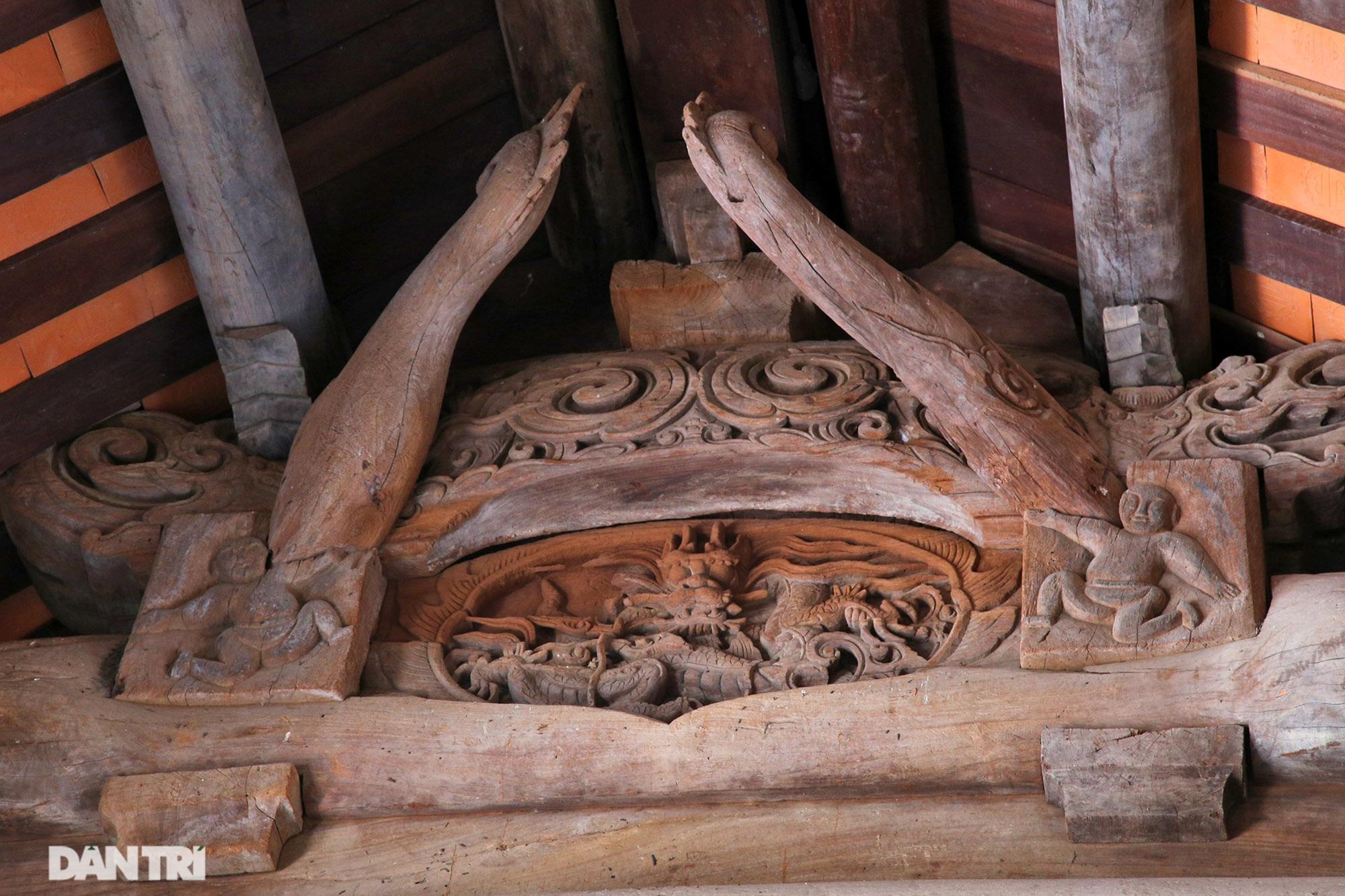 Chiêm ngưỡng tuyệt tác chạm khắc hơn 400 năm tuổi tại Hà Nội - 5