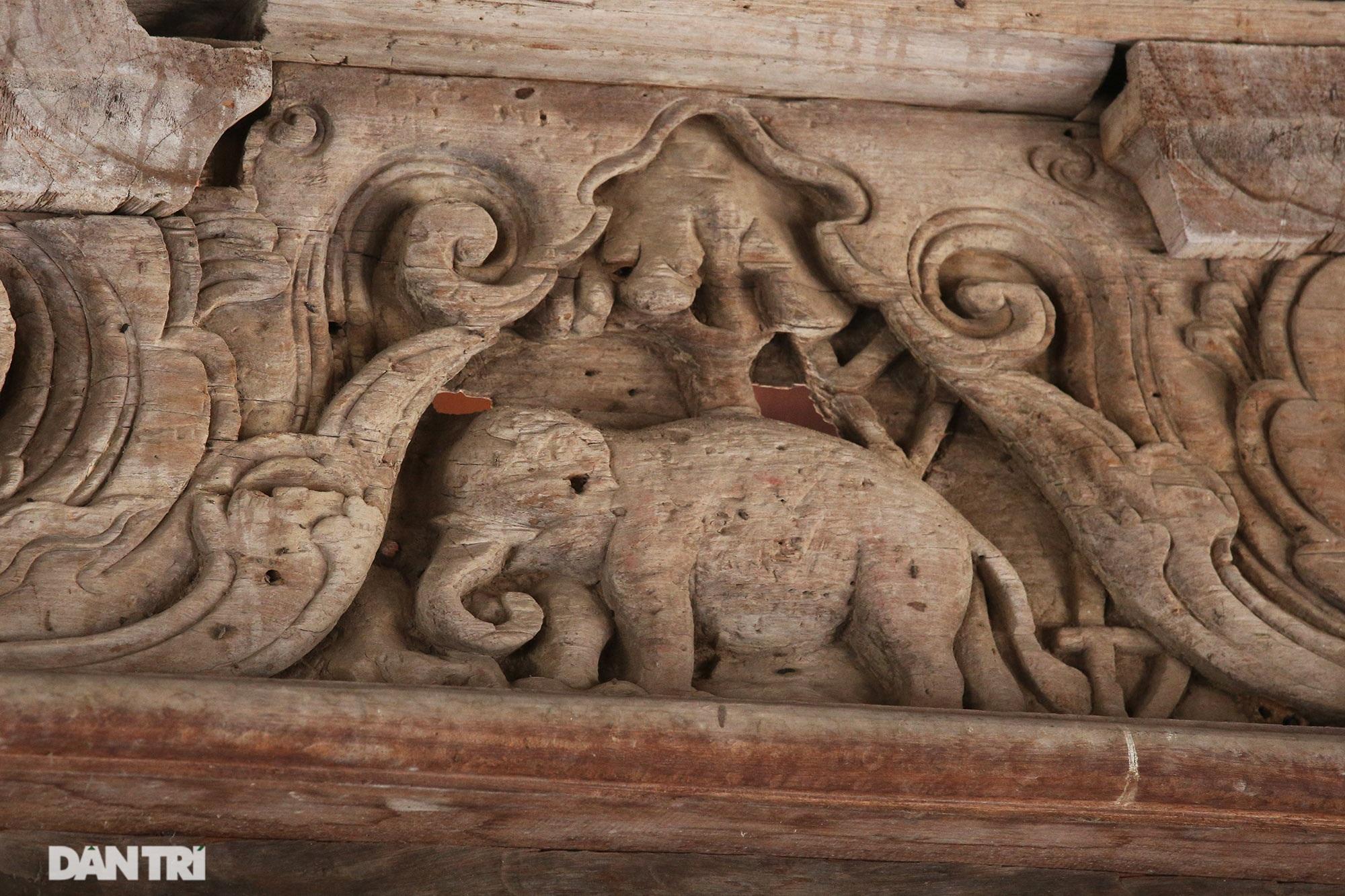 Chiêm ngưỡng tuyệt tác chạm khắc hơn 400 năm tuổi tại Hà Nội - 6