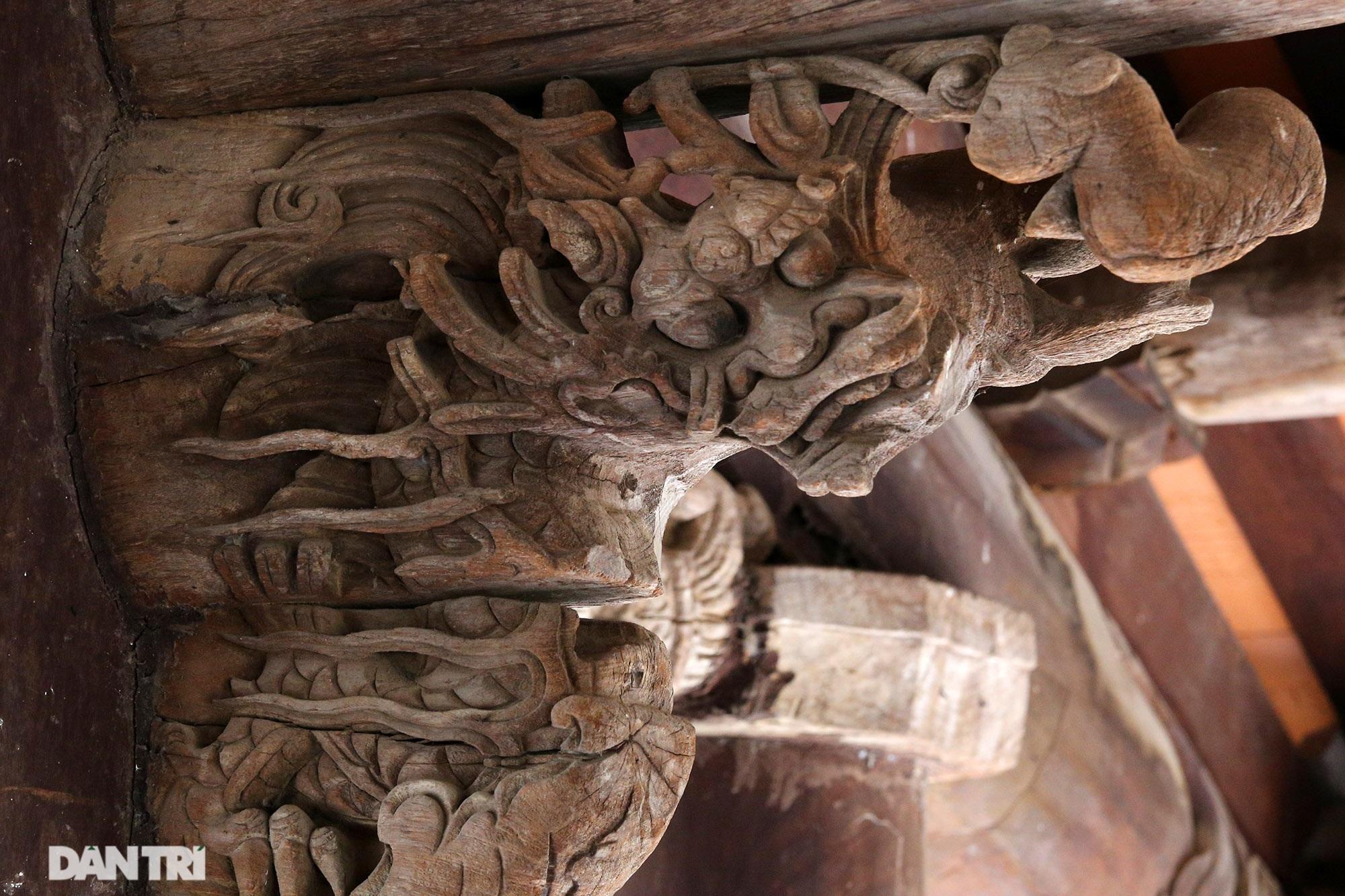 Chiêm ngưỡng tuyệt tác chạm khắc hơn 400 năm tuổi tại Hà Nội - 7