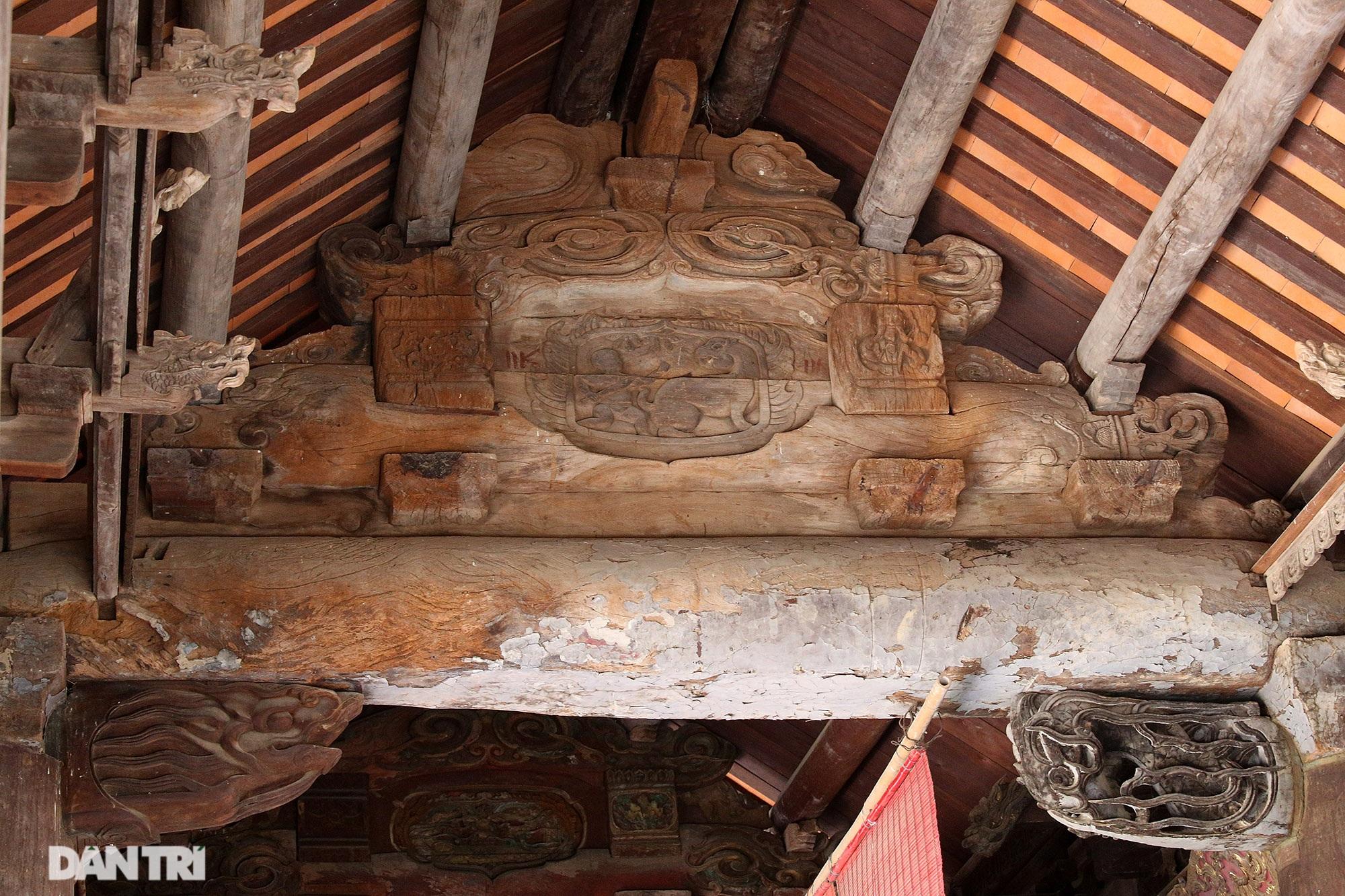 Chiêm ngưỡng tuyệt tác chạm khắc hơn 400 năm tuổi tại Hà Nội - 8