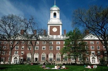 Đại học Harvard lần thứ 4 đứng đầu bảng xếp hạng Đại học Mỹ