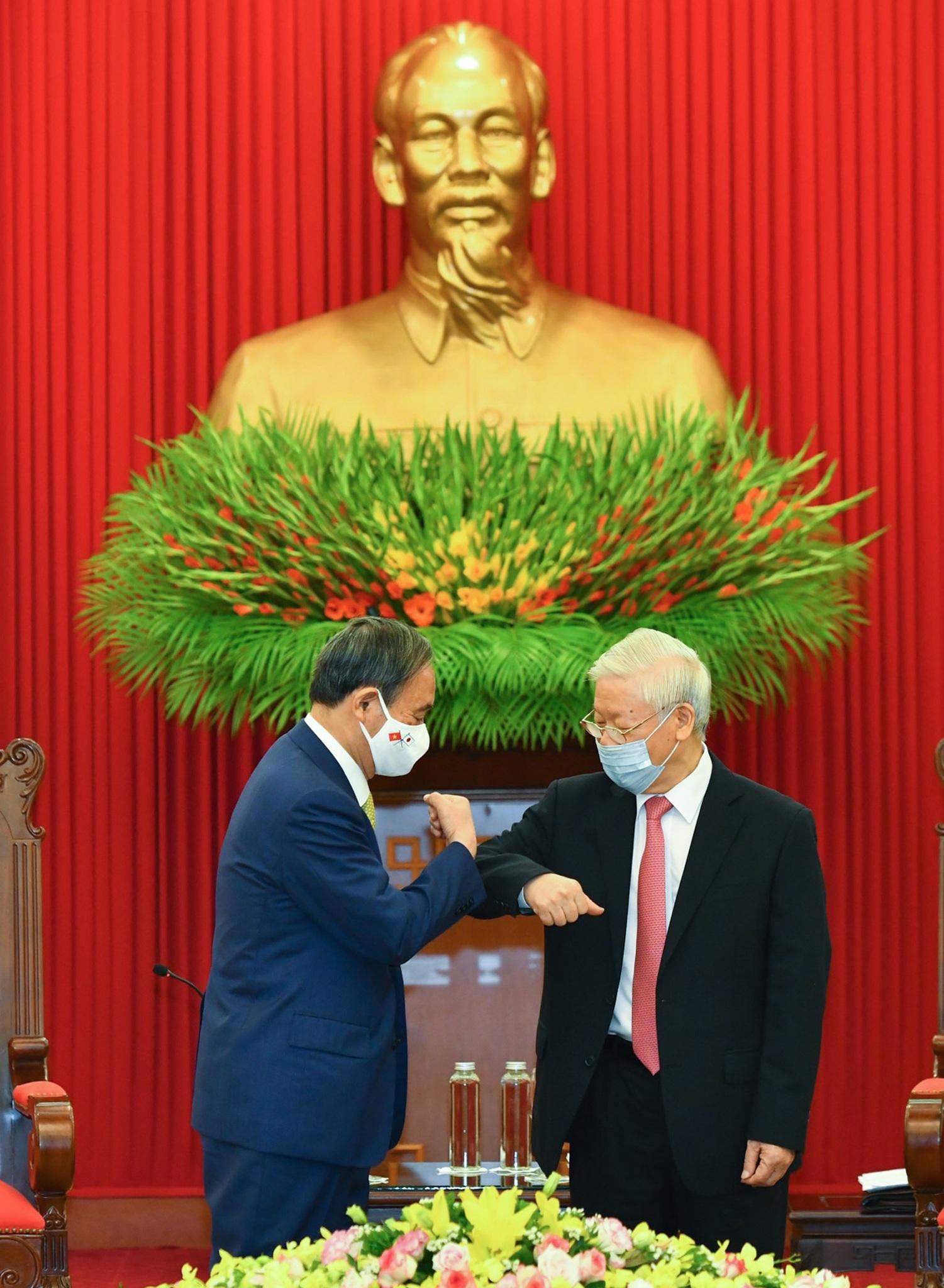Tổng Bí thư, Chủ tịch nước Nguyễn Phú Trọng tiếp Thủ tướng Nhật Bản - 1