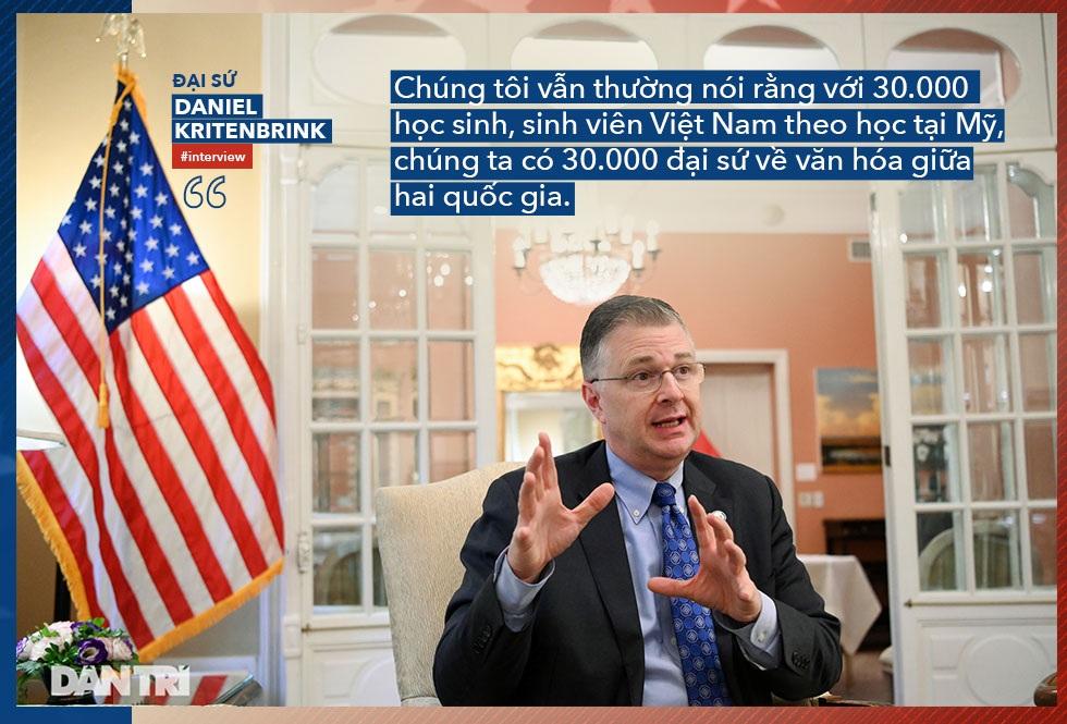 """Đại sứ Daniel Kritenbrink: 30.000 """"đại sứ văn hóa"""" gắn kết quan hệ Việt-Mỹ - 4"""
