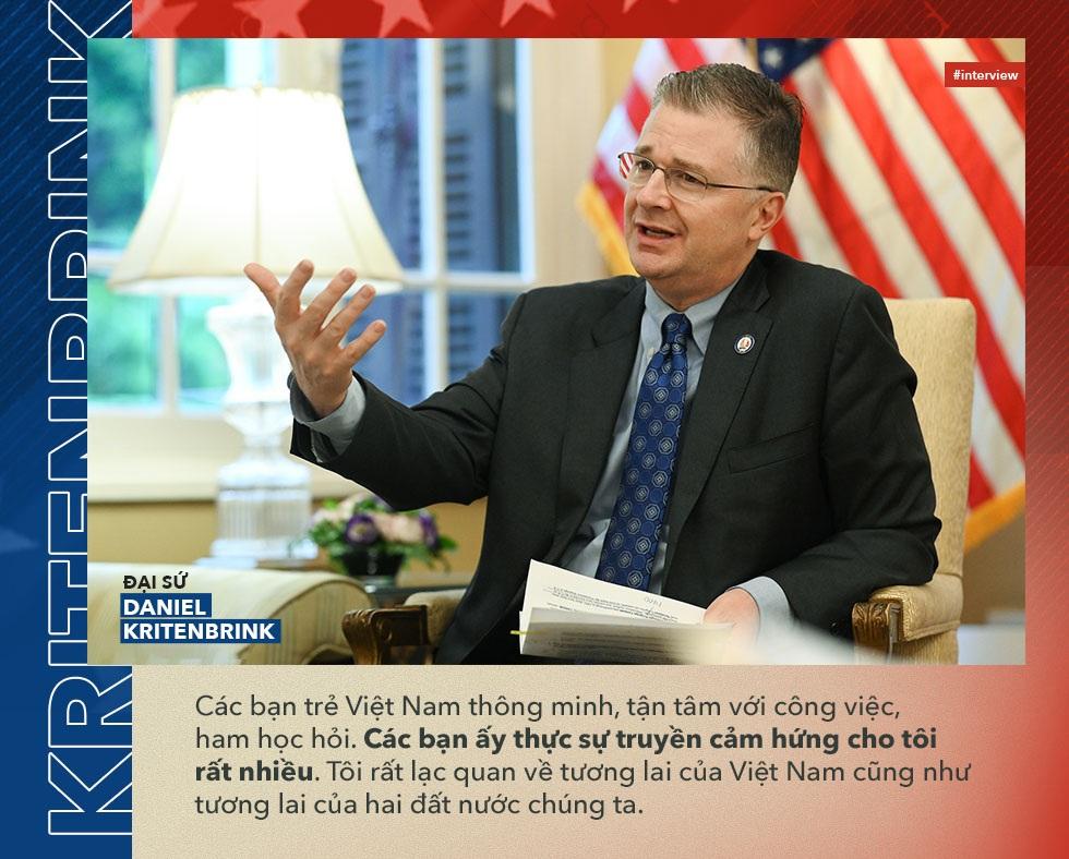 """Đại sứ Daniel Kritenbrink: 30.000 """"đại sứ văn hóa"""" gắn kết quan hệ Việt-Mỹ - 10"""
