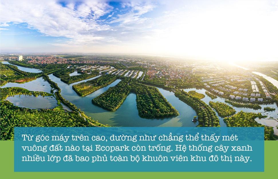 Thành phố triệu cây xanh Ecopark nhìn từ camera bay - 2