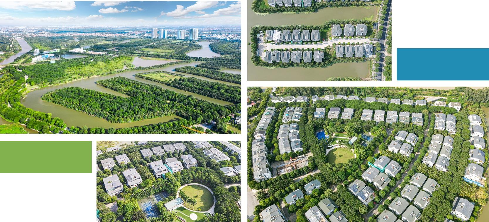 Thành phố triệu cây xanh Ecopark nhìn từ camera bay - 3