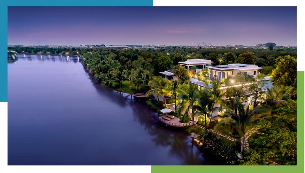 Thành phố triệu cây xanh Ecopark nhìn từ camera bay - 4