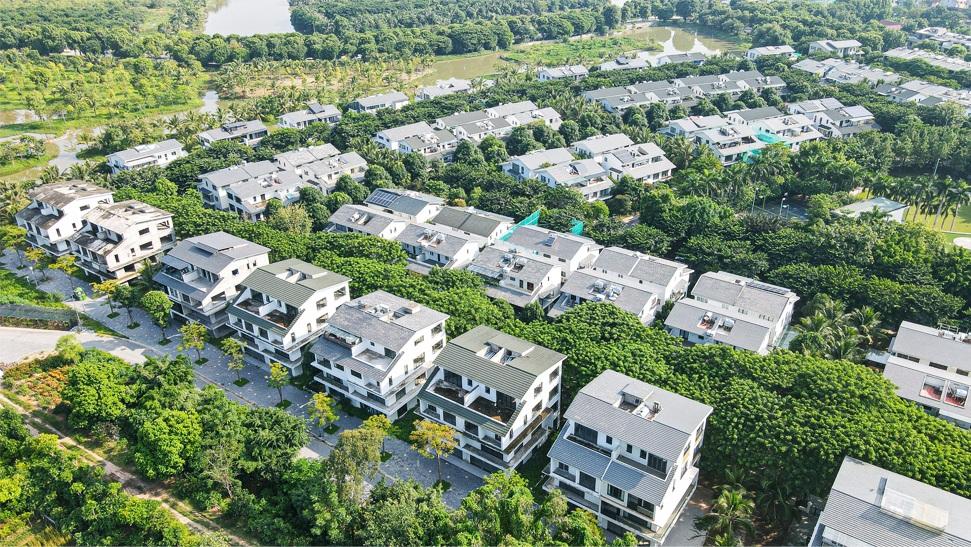 Thành phố triệu cây xanh Ecopark nhìn từ camera bay - 5