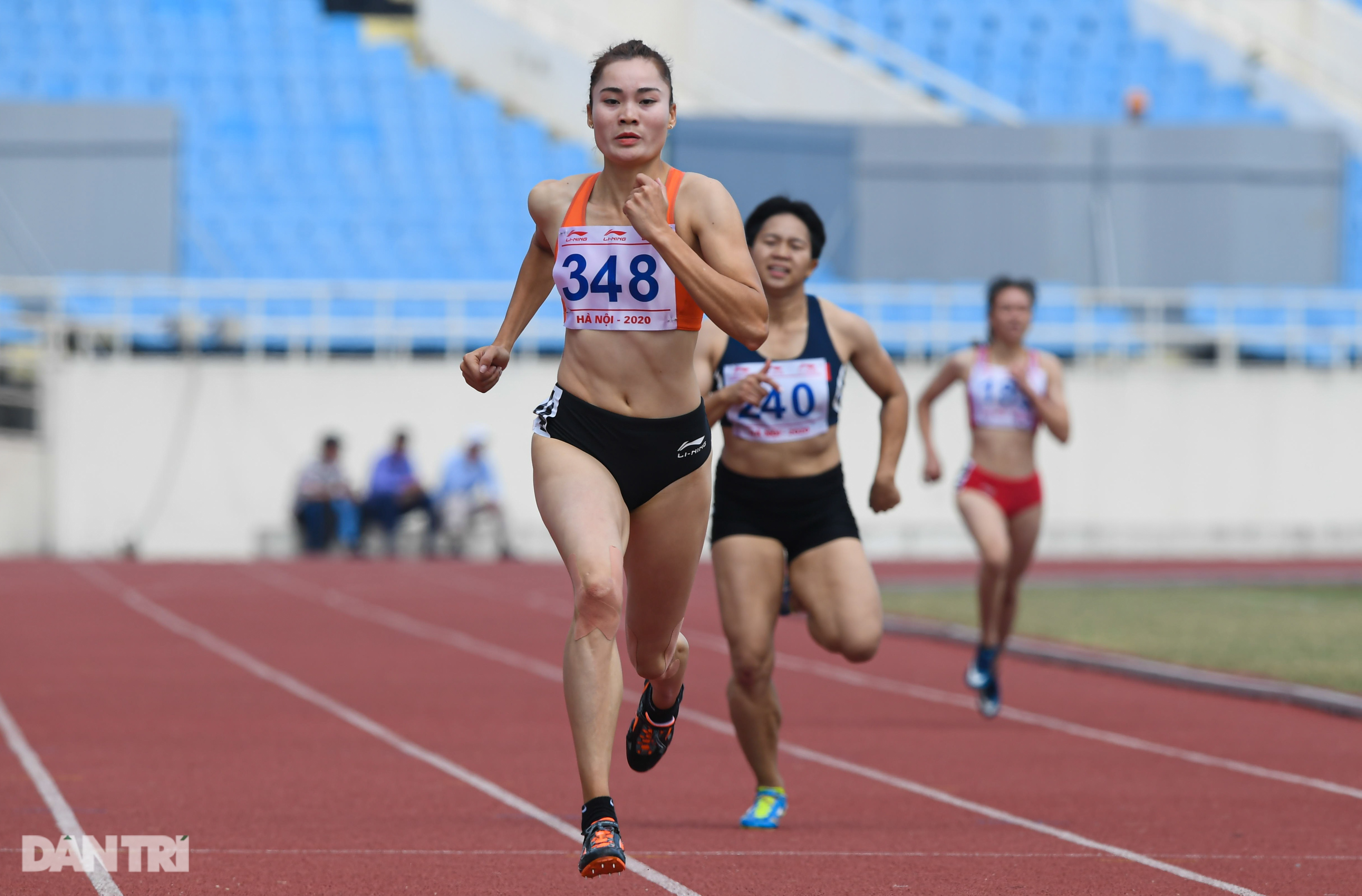 """""""Nữ hoàng điền kinh"""" Nguyễn Thị Huyền bất ngờ về nhì ở giải quốc nội - 8"""