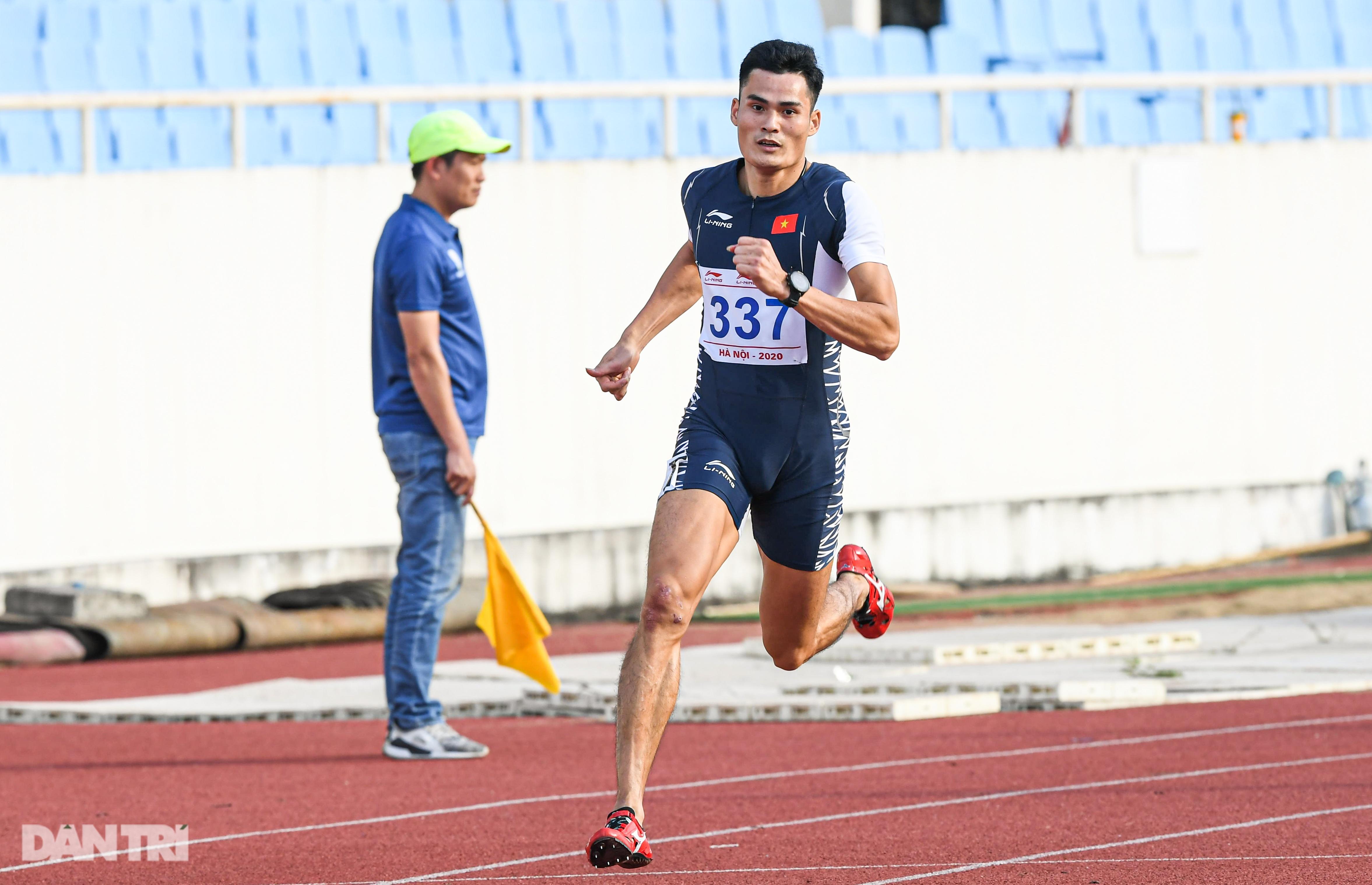 """""""Nữ hoàng điền kinh"""" Nguyễn Thị Huyền bất ngờ về nhì ở giải quốc nội - 16"""