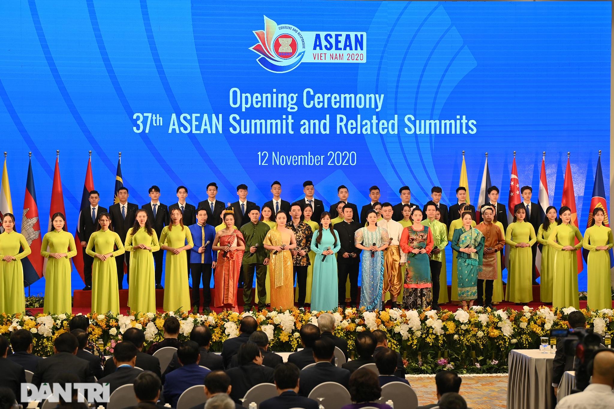 Lãnh đạo Đảng, Nhà nước dự khai mạc Hội nghị cấp cao ASEAN - 14