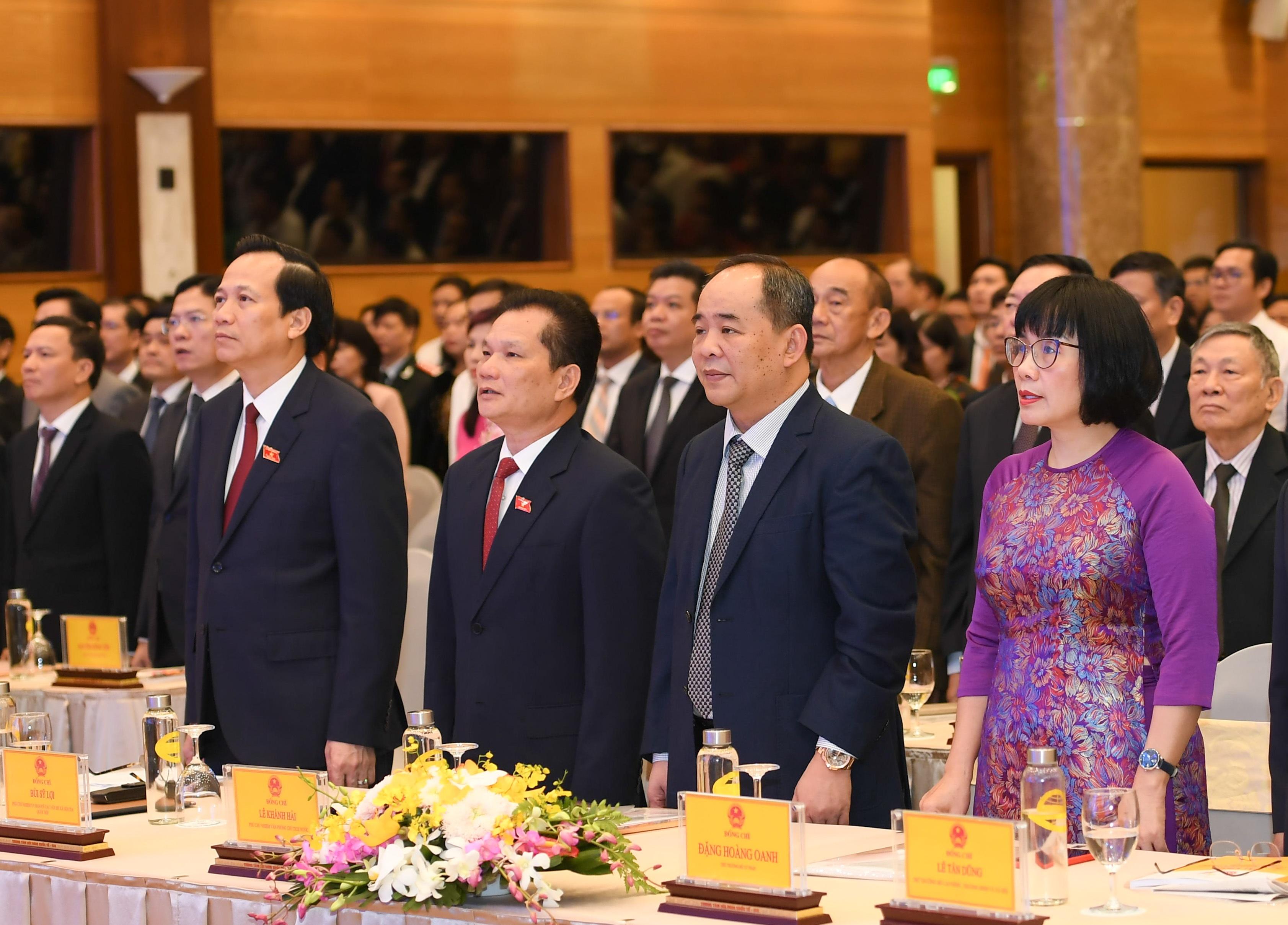 Bộ trưởng Đào Ngọc Dung: Chỉ tiêu niềm tin về an sinh xã hội tăng cao - 1