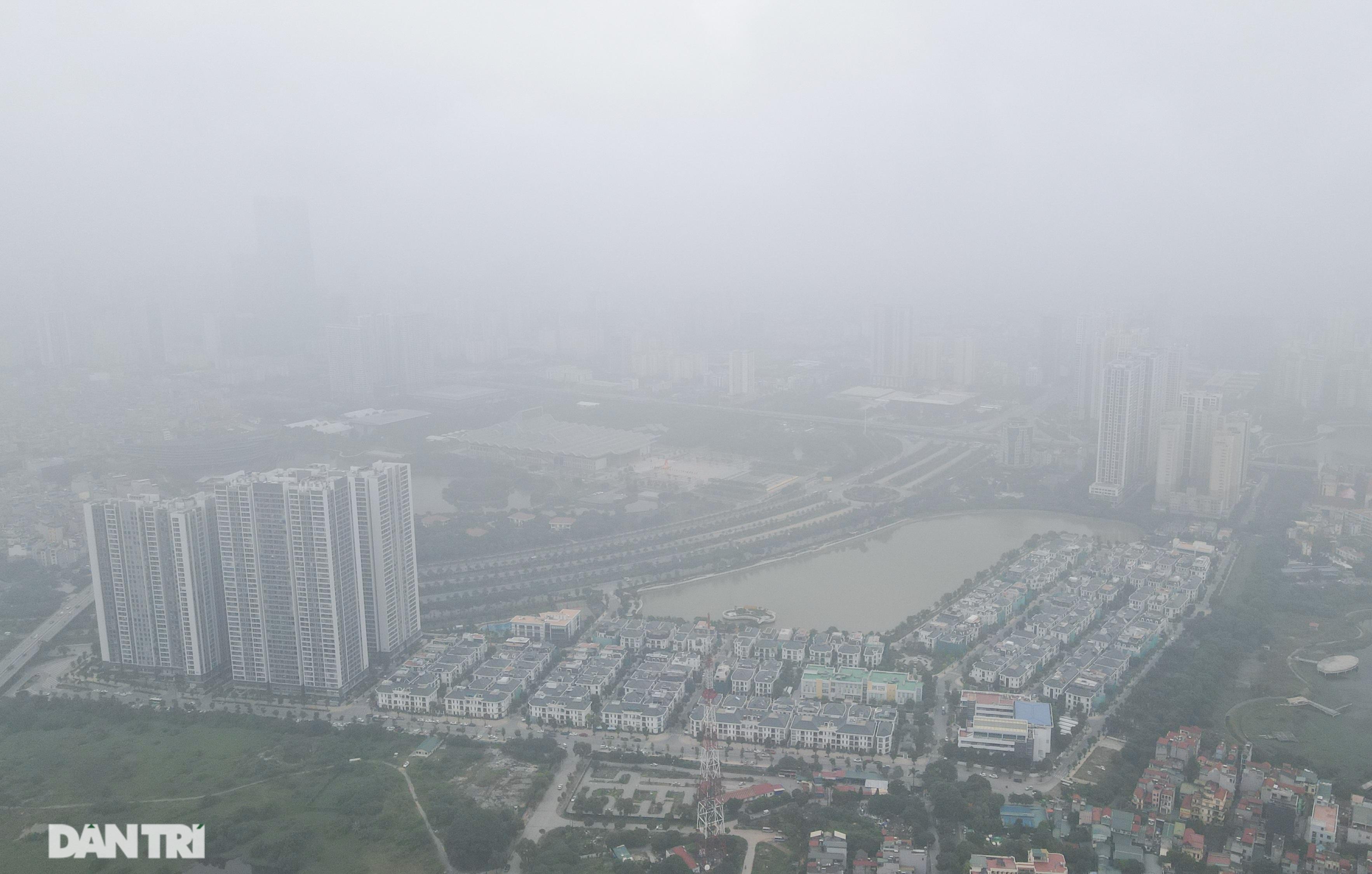 Xuất hiện hiện tượng nghịch nhiệt, Hà Nội chìm trong màn sương đục - 4