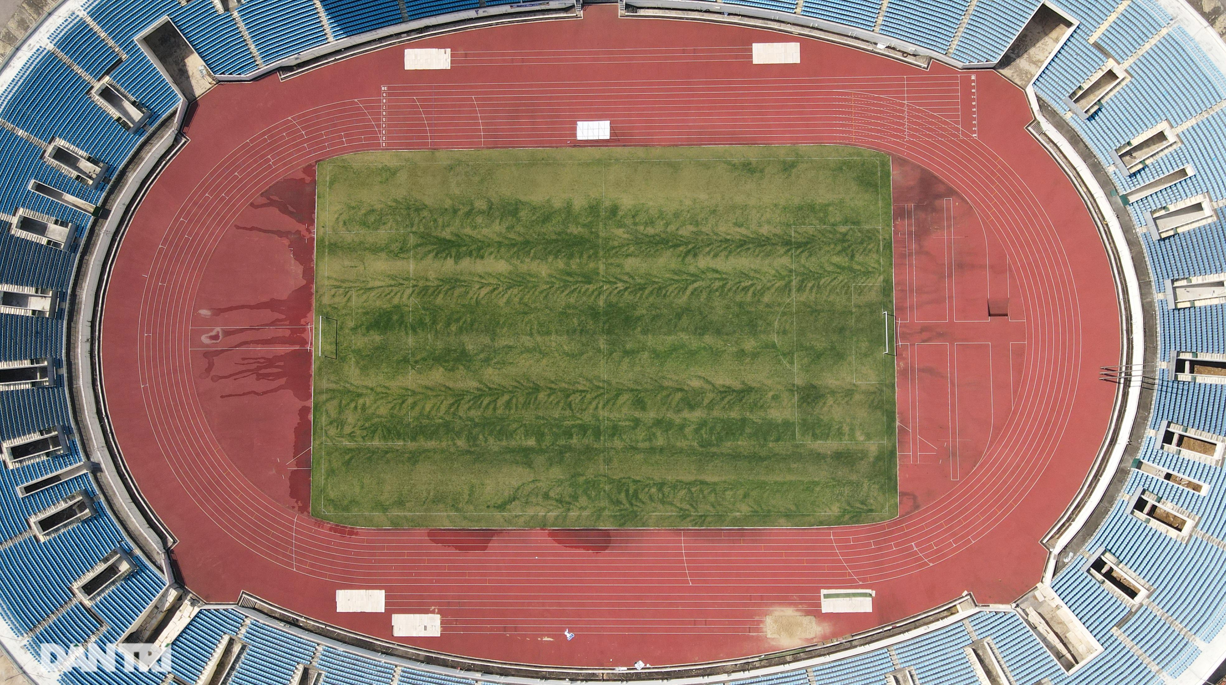 Cận cảnh đại tu Sân vận động Mỹ Đình sau 17 năm hoạt động - 1