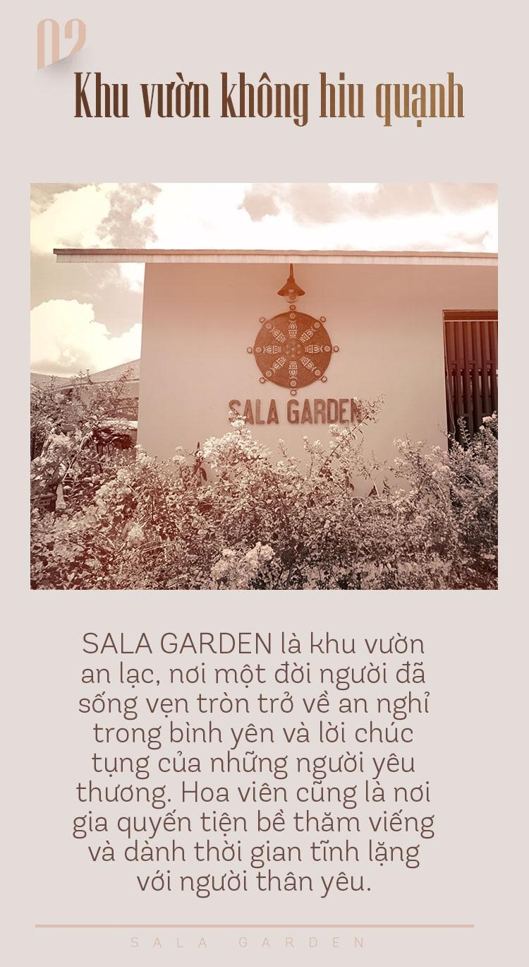 Hơi ấm lúc hoàng hôn trong khu vườn Sala - 6
