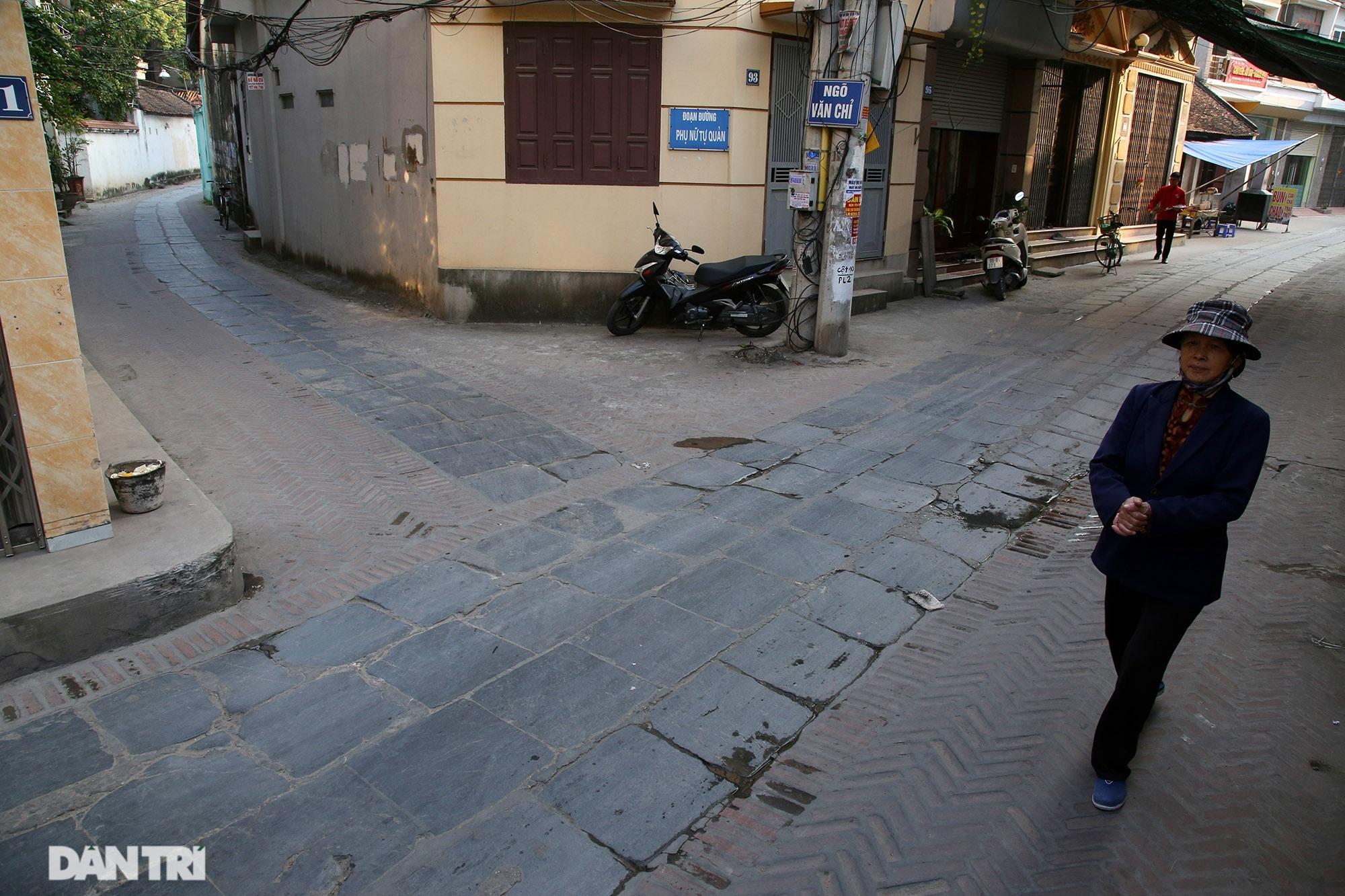 Con đường lát đá xanh vẫn bền đẹp sau gần 100 năm tại Bắc Ninh - 14