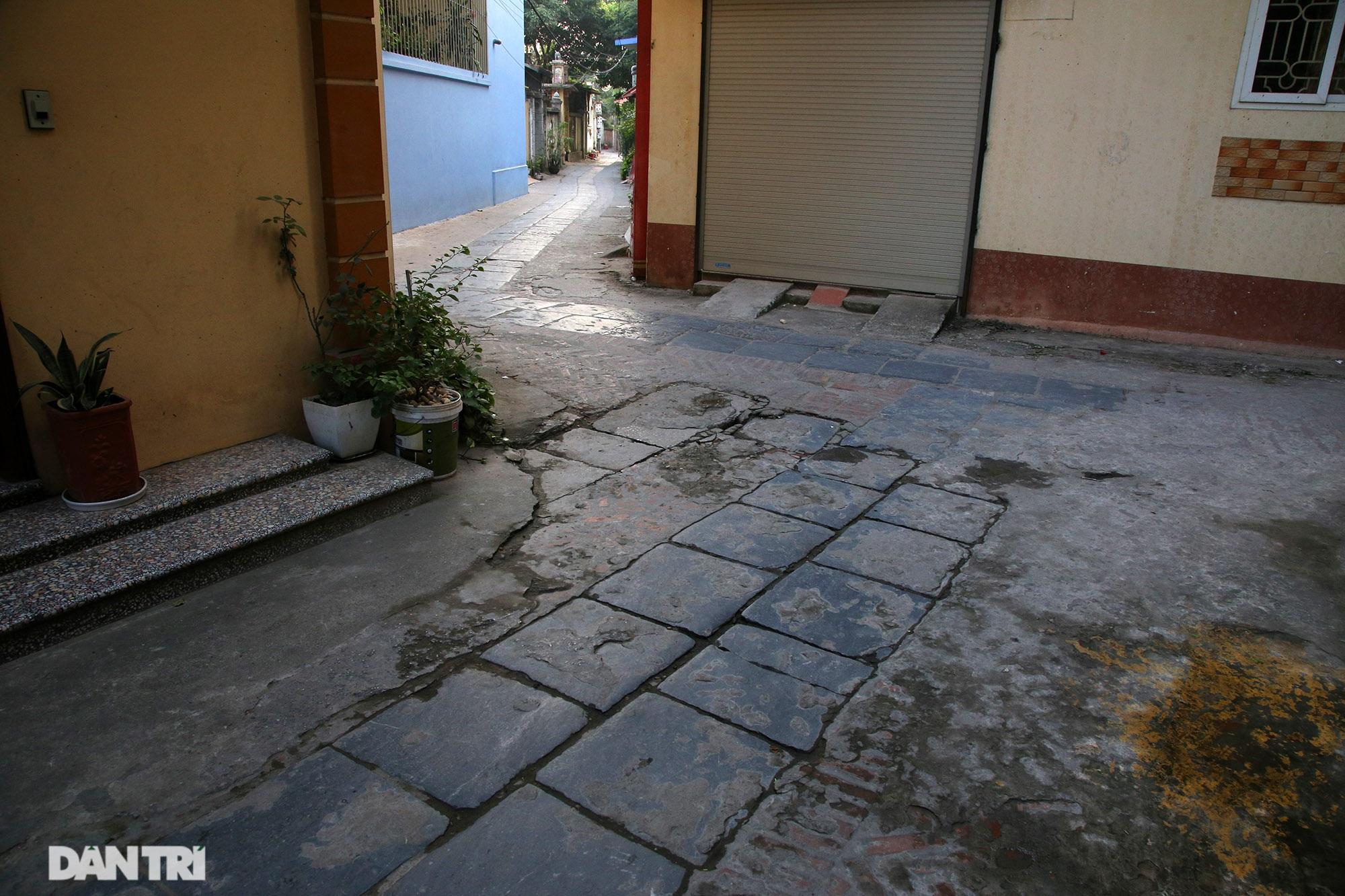 Con đường lát đá xanh vẫn bền đẹp sau gần 100 năm tại Bắc Ninh - 5