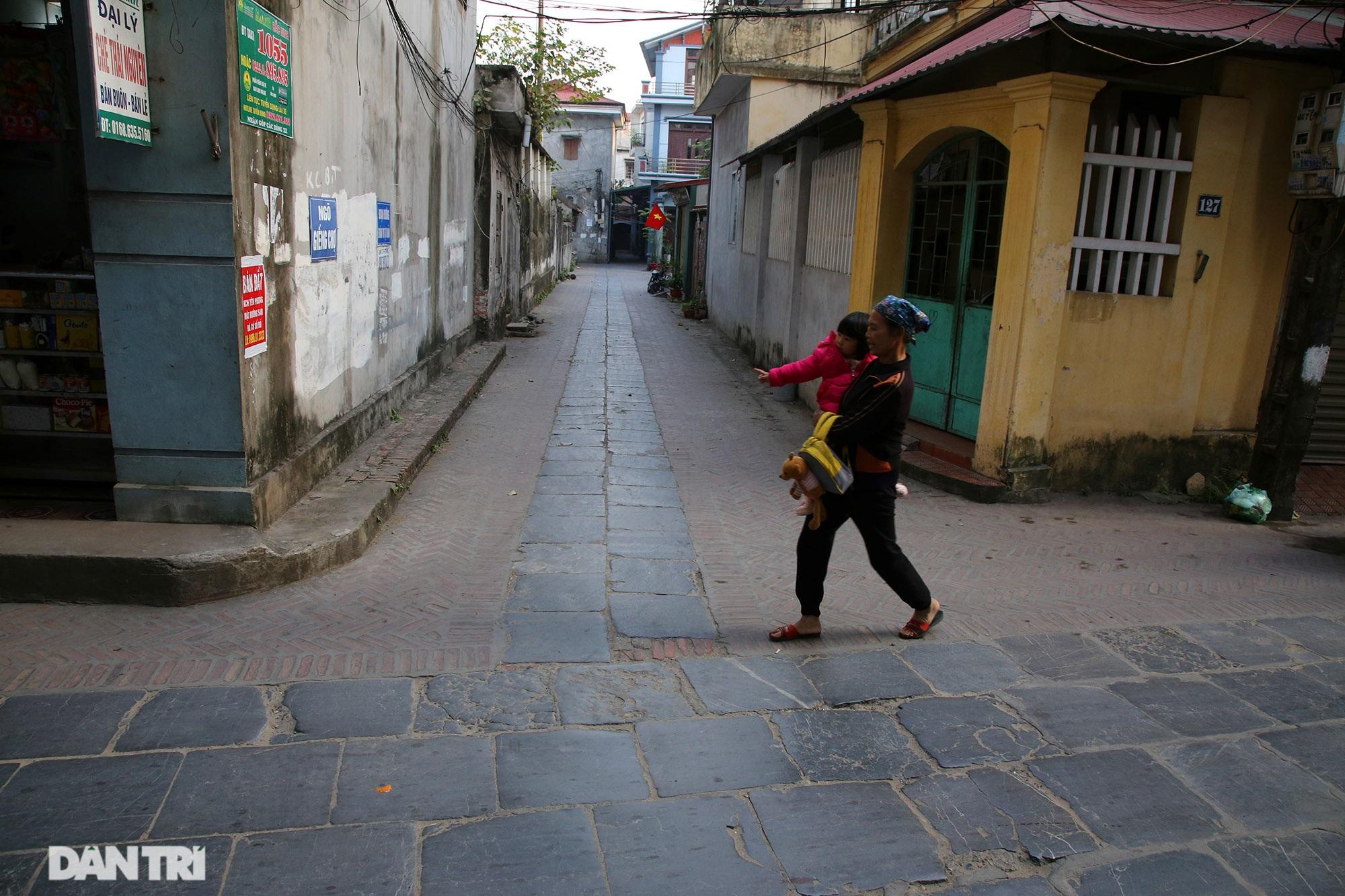 Con đường lát đá xanh vẫn bền đẹp sau gần 100 năm tại Bắc Ninh - 8