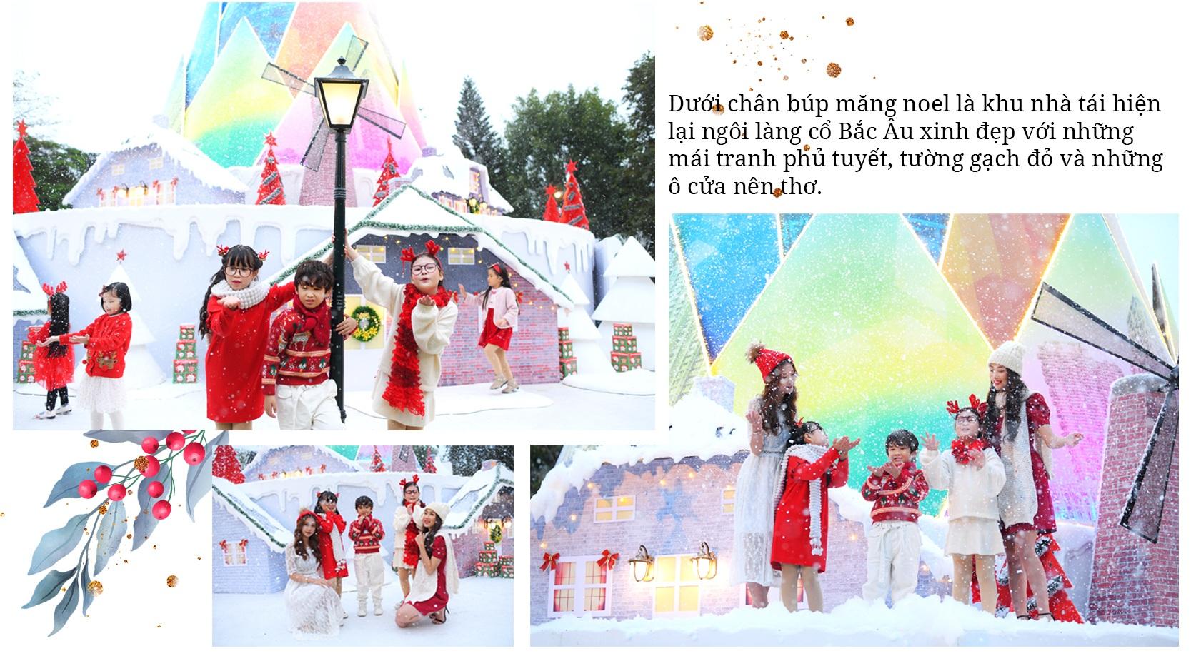 Giáng sinh tuyết trắng cùng búp măng Noel cao nhất Việt Nam tại Ecopark - 4