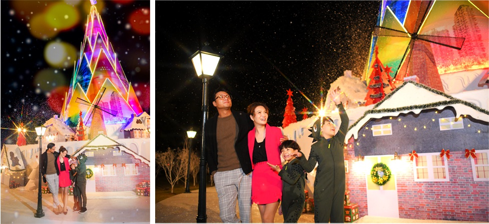 Giáng sinh tuyết trắng cùng búp măng Noel cao nhất Việt Nam tại Ecopark - 5
