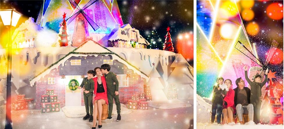 Giáng sinh tuyết trắng cùng búp măng Noel cao nhất Việt Nam tại Ecopark - 6
