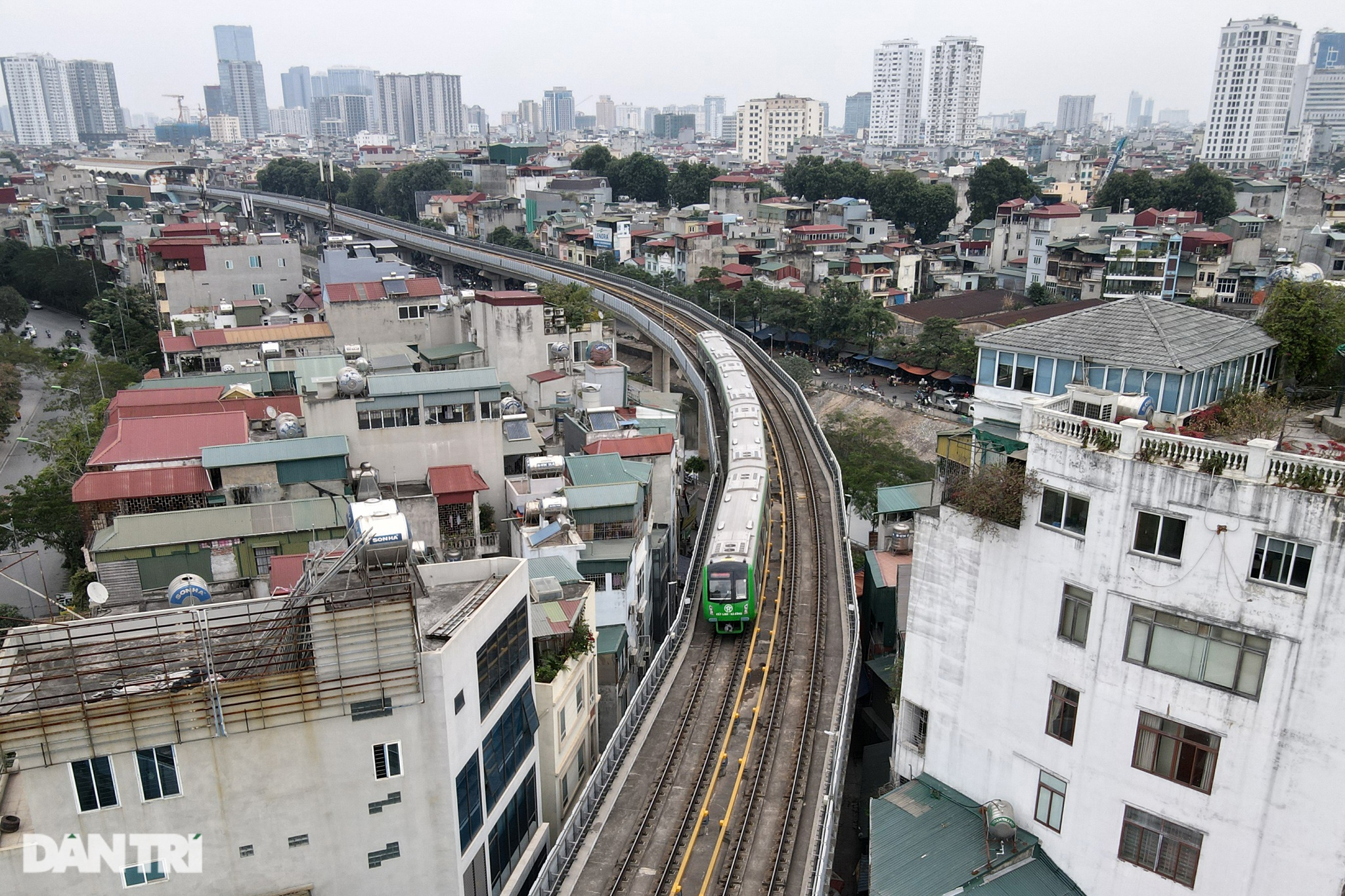 Tiết lộ đầu tiên về kết quả chạy thử nghiệm đường sắt Cát Linh - Hà Đông - 10