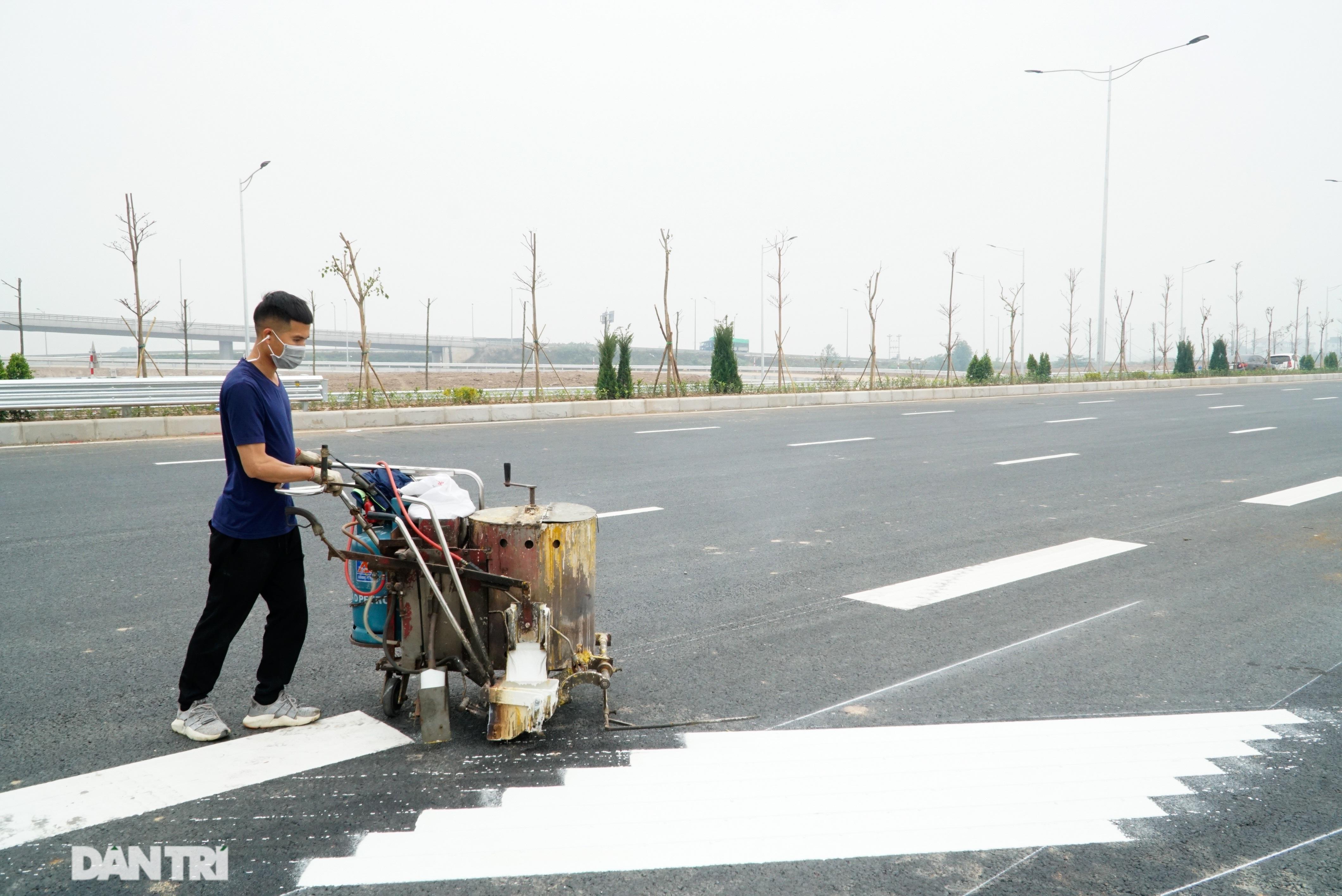 Toàn cảnh nút giao cao tốc hơn 400 tỷ ở Hà Nội trước ngày thông xe - 10