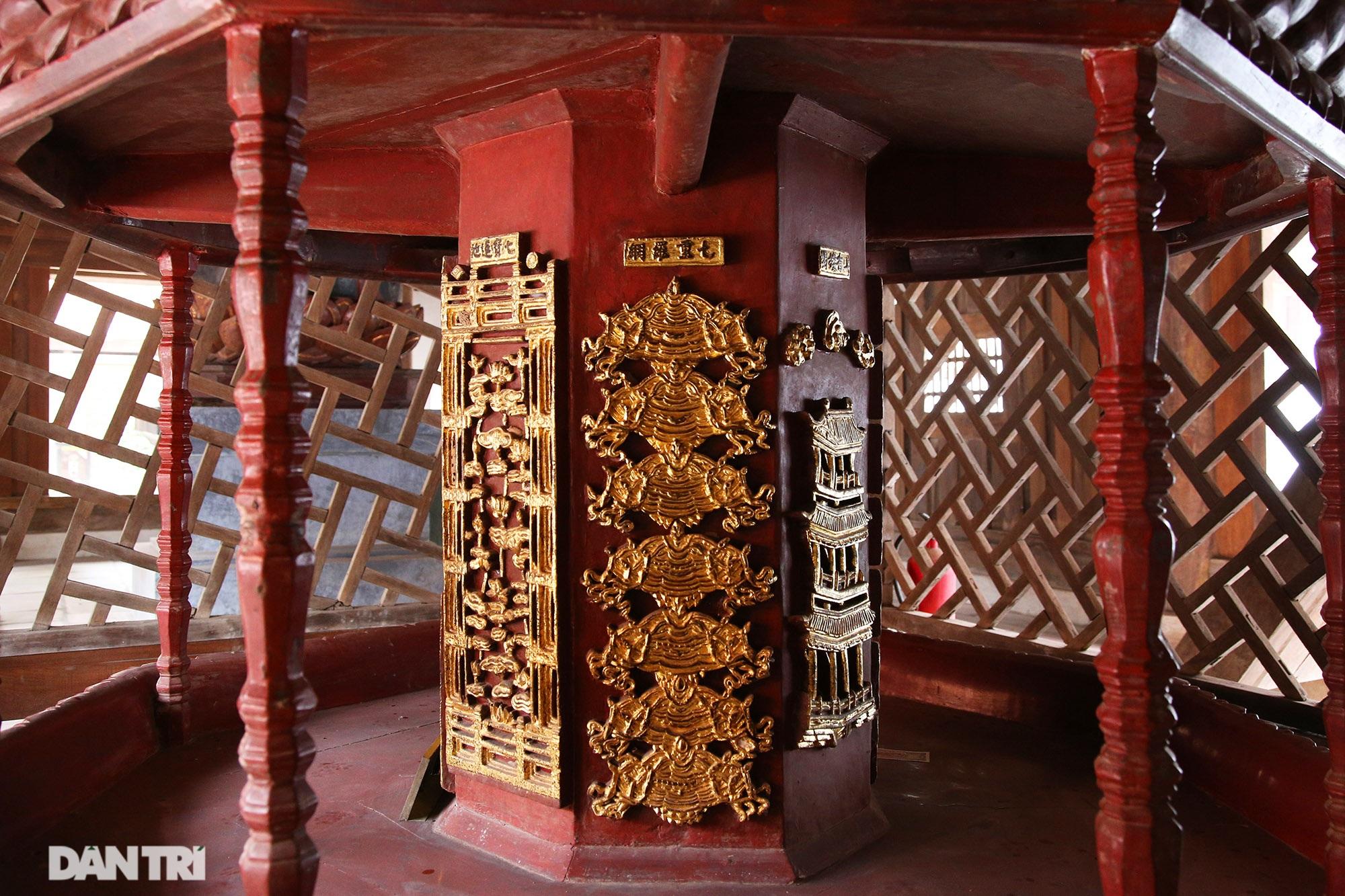 Chiêm ngưỡng bảo vật quốc gia mới: Kiệt tác Cửu phẩm liên hoa chùa Bút Tháp - 13