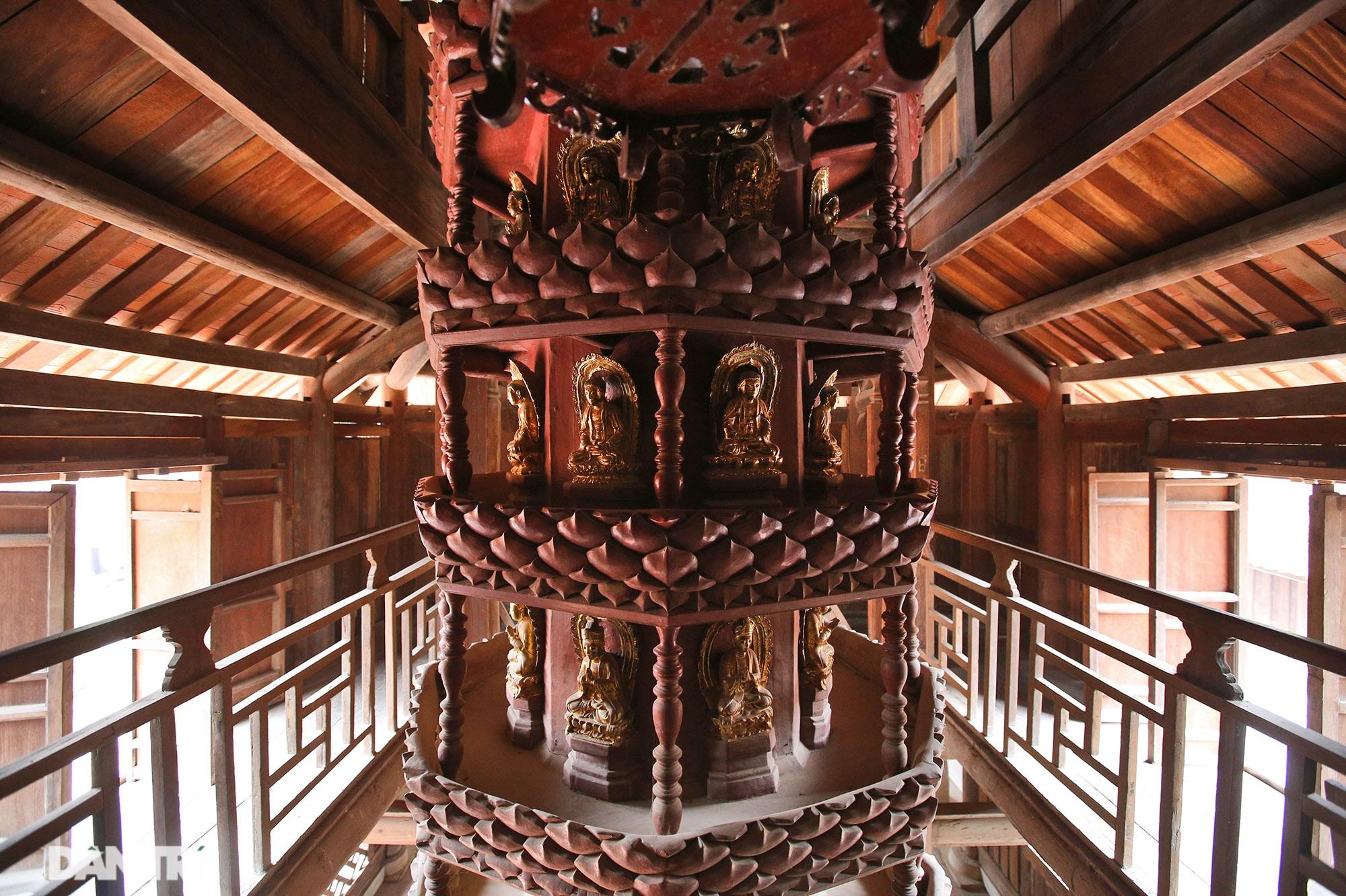 Chiêm ngưỡng bảo vật quốc gia mới: Kiệt tác Cửu phẩm liên hoa chùa Bút Tháp - 14