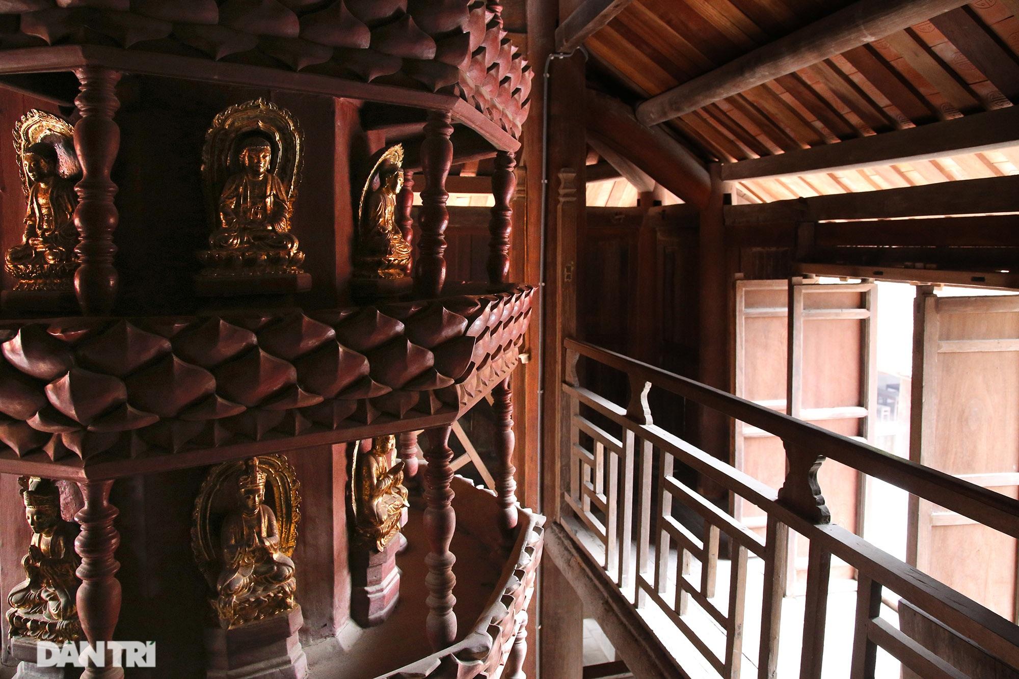 Chiêm ngưỡng bảo vật quốc gia mới: Kiệt tác Cửu phẩm liên hoa chùa Bút Tháp - 3