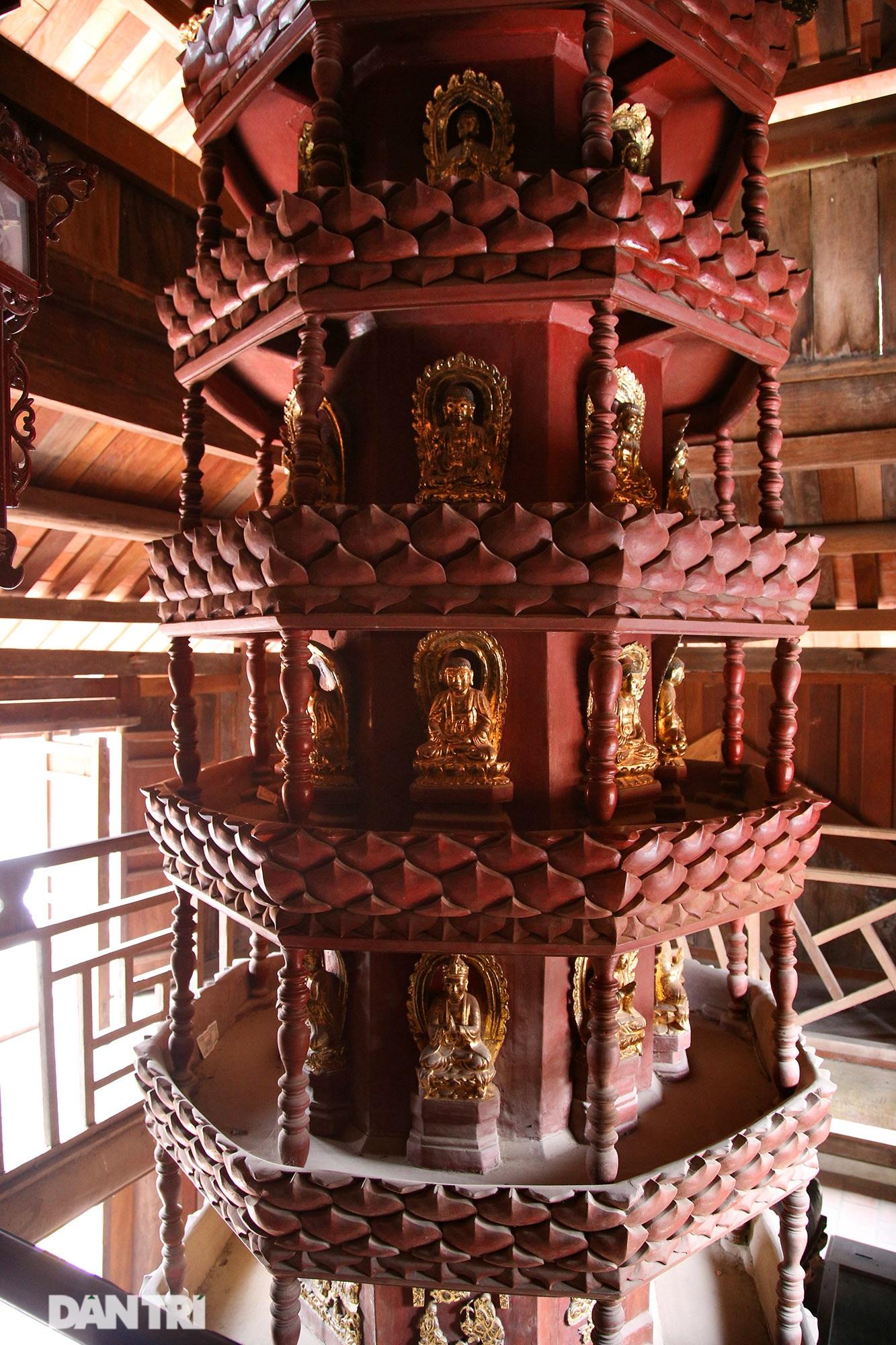 Chiêm ngưỡng bảo vật quốc gia mới: Kiệt tác Cửu phẩm liên hoa chùa Bút Tháp - 5