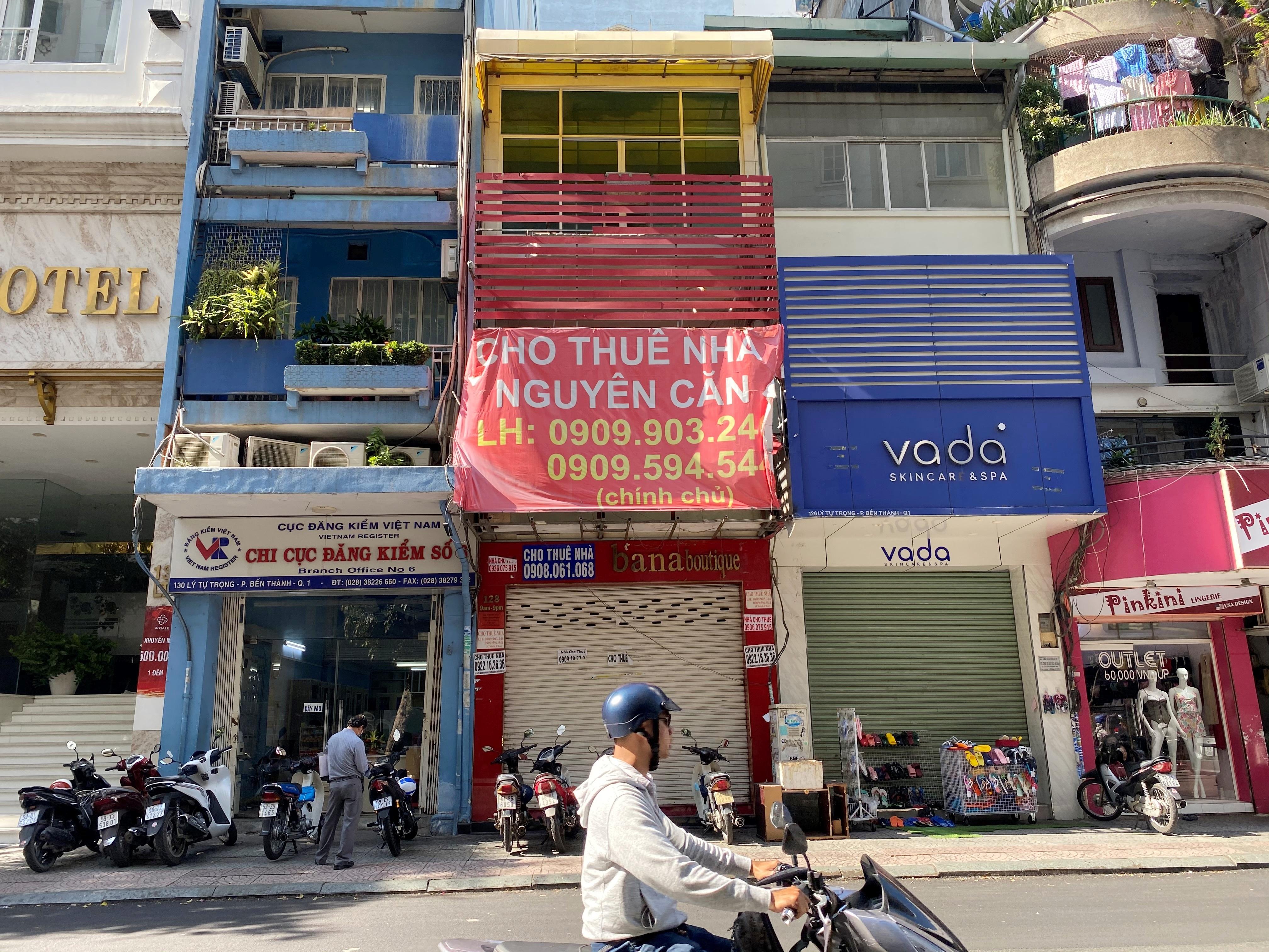 Giảm giá 80 triệu đồng/tháng, đất vàng Sài Gòn
