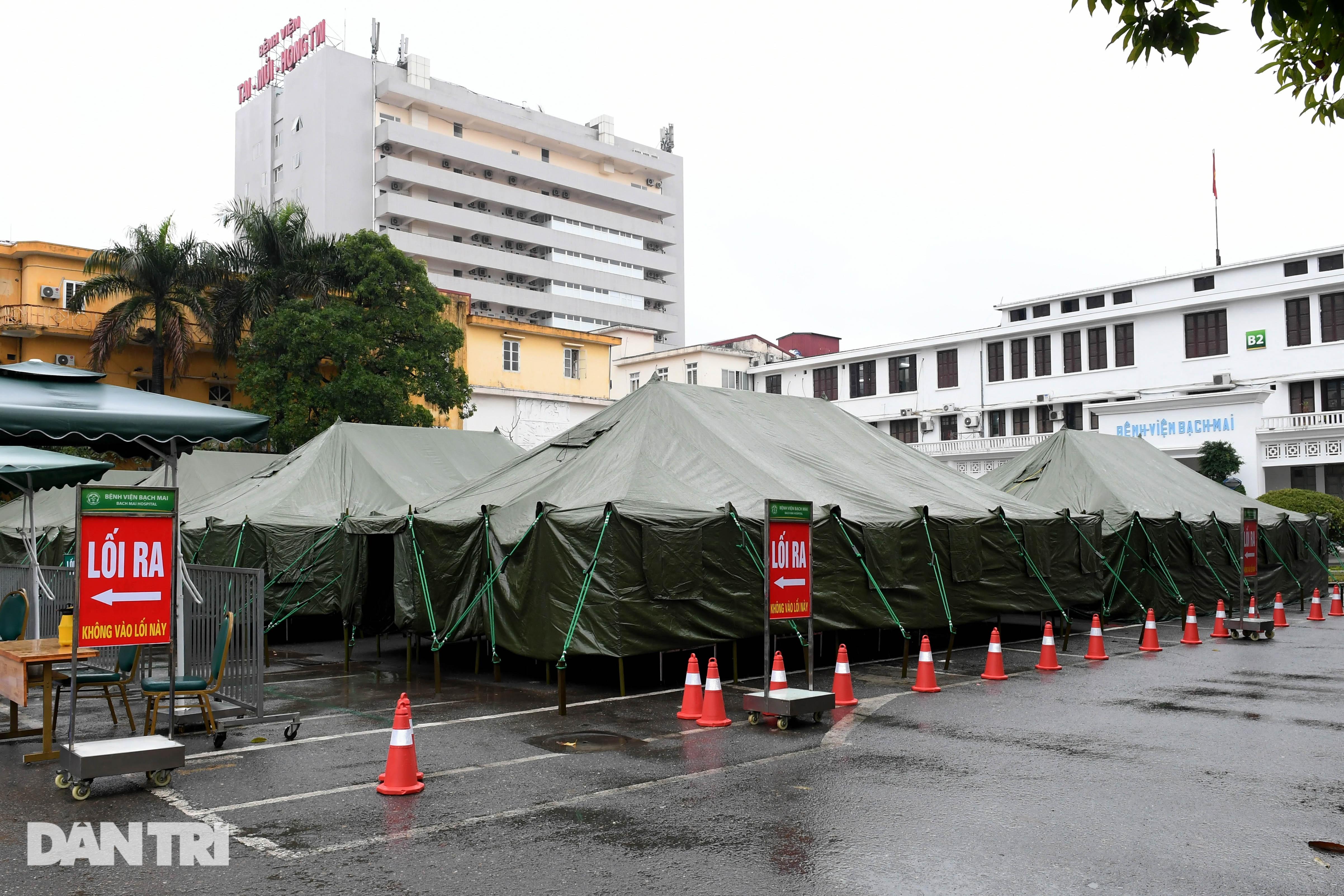 Toàn cảnh bệnh viện dã chiến Bạch Mai sẵn sàng chống dịch Covid-19 - 1
