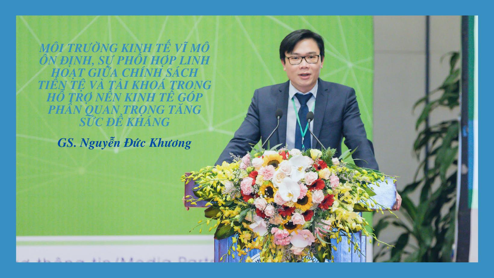 GS. Nguyễn Đức Khương: 2 động lực mới của Việt Nam nhiều dư địa phát triển - 1